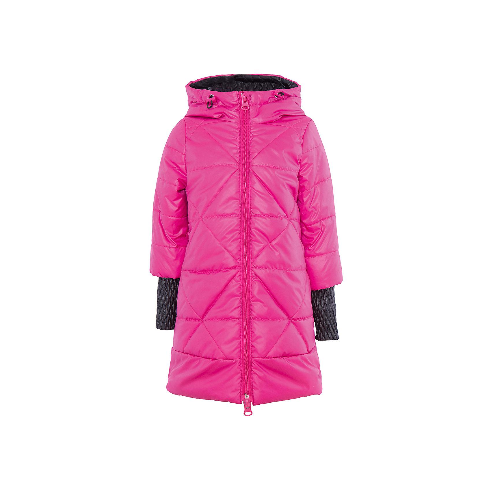 Пальто для девочки BOOM by OrbyВерхняя одежда<br>Характеристики товара:<br><br>• цвет: розовый<br>• состав: 100% полиэстер<br>• ткань верха: Таффета oil cire с pu.<br>• подкладка: ПЭ пуходержащий.<br>• утеплитель: Flexy Fiber 150 г/м2.<br>• отделка: Таффета oil cire pu стеганая<br>• Flexy Fiber - это искусственный аналог лебяжьего пуха<br>• карманы<br>• температурный режим: от +10°до 0°С <br>• капюшон (не отстегивается)<br>• высокий воротник<br>• застежка - молния<br>• стеганое<br>• длина до колен<br>• комфортная посадка<br>• страна производства: Российская Федерация<br>• страна бренда: Российская Федерация<br>• коллекция: весна-лето 2017<br><br>Такое пальто - отличный вариант для походов в школу в межсезонье с его постоянно меняющейся погодой. Эта модель - модная и удобная одновременно! Изделие отличается стильным оригинальным дизайном. Пальто хорошо сидит по фигуре, отлично сочетается с различным низом. Вещь была разработана специально для детей.<br><br>Одежда от российского бренда BOOM by Orby уже завоевала популярностью у многих детей и их родителей. Вещи, выпускаемые компанией, качественные, продуманные и очень удобные. Для производства коллекций используются только безопасные для детей материалы. Спешите приобрести модели из новой коллекции Весна-лето 2017! <br><br>Пальто для девочки от бренда BOOM by Orby можно купить в нашем интернет-магазине.<br><br>Ширина мм: 356<br>Глубина мм: 10<br>Высота мм: 245<br>Вес г: 519<br>Цвет: розовый<br>Возраст от месяцев: 36<br>Возраст до месяцев: 48<br>Пол: Женский<br>Возраст: Детский<br>Размер: 104,170,110,98,116,122,128,134,140,146,152,158,164<br>SKU: 5343778