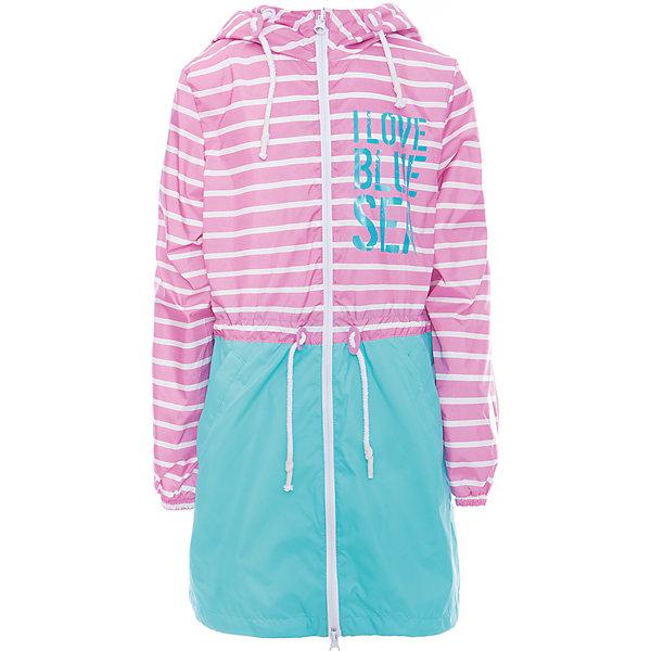 Плащ для девочки BOOM by OrbyВерхняя одежда<br>Характеристики товара:<br><br>• цвет: розовый/бирюзовый<br>• состав: верх - таффета, подкладка - полиэстер, флис, без утеплителя<br>• температурный режим: от +7°до +15°С<br>• демисезон<br>• капюшон<br>• застежка - молния<br>• декорирован принт<br>• утяжка в капюшоне<br>• шнурок в поясе<br>• комфортная посадка<br>• страна производства: Российская Федерация<br>• страна бренда: Российская Федерация<br>• коллекция: весна-лето 2017<br><br>Такой плащ - универсальный вариант для теплого межсезонья с постоянно меняющейся погодой. Эта модель - модная и удобная одновременно! Изделие отличается стильным ярким дизайном. Плащ хорошо сидит по фигуре, отлично сочетается с различным низом. Вещь была разработана специально для детей.<br><br>Одежда от российского бренда BOOM by Orby уже завоевала популярностью у многих детей и их родителей. Вещи, выпускаемые компанией, качественные, продуманные и очень удобные. Для производства коллекций используются только безопасные для детей материалы. Спешите приобрести модели из новой коллекции Весна-лето 2017!<br><br>Плащ для девочки от бренда BOOM by Orby можно купить в нашем интернет-магазине.<br><br>Ширина мм: 356<br>Глубина мм: 10<br>Высота мм: 245<br>Вес г: 519<br>Цвет: розовый<br>Возраст от месяцев: 144<br>Возраст до месяцев: 156<br>Пол: Женский<br>Возраст: Детский<br>Размер: 158,104,152,146,140,134,128,122,116,98,92,110<br>SKU: 5343877