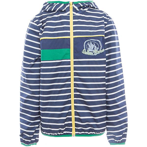 Куртка для мальчика BOOM by OrbyВерхняя одежда<br>Характеристики товара:<br><br>• цвет: синий<br>• состав: верх - таффета, подкладка - поликоттон, полиэстер, без утеплителя<br>• температурный режим: от +5° до +15°С<br>• пропитка от промокания<br>• застежка - молния<br>• капюшон <br>• украшена принтом<br>• легкая<br>• комфортная посадка<br>• страна производства: Российская Федерация<br>• страна бренда: Российская Федерация<br>• коллекция: весна-лето 2017<br><br>Легкая куртка - универсальный вариант и для прохладного летнего вечера, и для теплого межсезонья. Эта модель - модная и удобная одновременно! Изделие отличается стильным ярким дизайном. Куртка хорошо сидит по фигуре, отлично сочетается с различным низом. Вещь была разработана специально для детей.<br><br>Одежда от российского бренда BOOM by Orby уже завоевала популярностью у многих детей и их родителей. Вещи, выпускаемые компанией, качественные, продуманные и очень удобные. Для производства коллекций используются только безопасные для детей материалы. Спешите приобрести модели из новой коллекции Весна-лето 2017! <br><br>Куртку для мальчика от бренда BOOM by Orby можно купить в нашем интернет-магазине.<br><br>Ширина мм: 356<br>Глубина мм: 10<br>Высота мм: 245<br>Вес г: 519<br>Цвет: синий<br>Возраст от месяцев: 120<br>Возраст до месяцев: 132<br>Пол: Мужской<br>Возраст: Детский<br>Размер: 146,104,158,152,140,134,128,122,116,110,98,92,86<br>SKU: 5343890