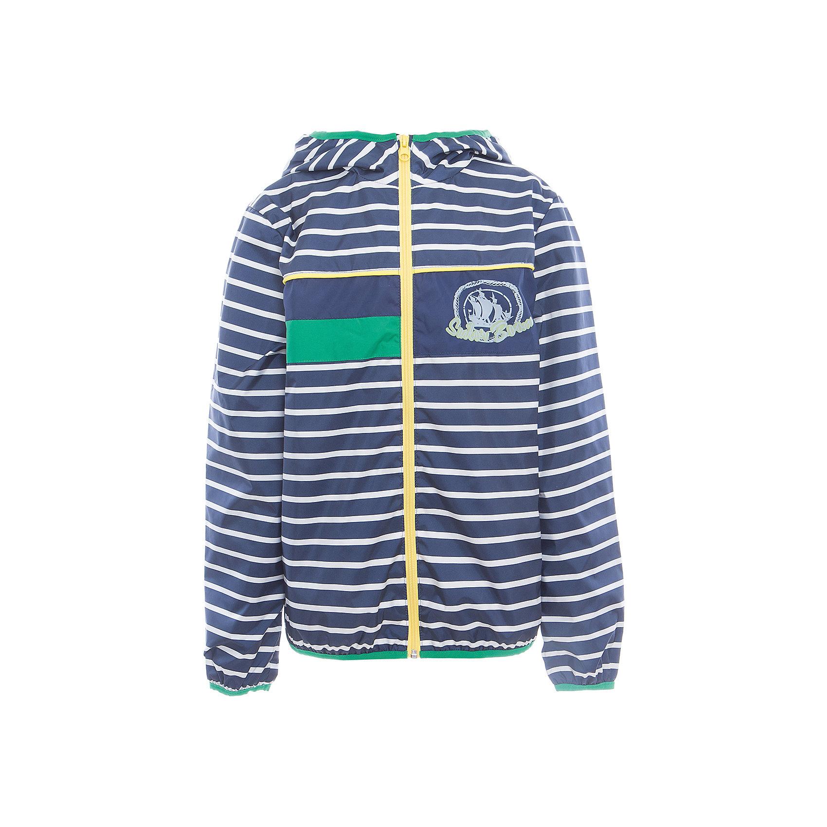 Куртка для мальчика BOOM by OrbyПолоска<br>Характеристики товара:<br><br>• цвет: синий<br>• состав: верх - таффета, подкладка - поликоттон, полиэстер, без утеплителя<br>• температурный режим: от +5° до +15°С<br>• пропитка от промокания<br>• застежка - молния<br>• капюшон <br>• украшена принтом<br>• легкая<br>• комфортная посадка<br>• страна производства: Российская Федерация<br>• страна бренда: Российская Федерация<br>• коллекция: весна-лето 2017<br><br>Легкая куртка - универсальный вариант и для прохладного летнего вечера, и для теплого межсезонья. Эта модель - модная и удобная одновременно! Изделие отличается стильным ярким дизайном. Куртка хорошо сидит по фигуре, отлично сочетается с различным низом. Вещь была разработана специально для детей.<br><br>Одежда от российского бренда BOOM by Orby уже завоевала популярностью у многих детей и их родителей. Вещи, выпускаемые компанией, качественные, продуманные и очень удобные. Для производства коллекций используются только безопасные для детей материалы. Спешите приобрести модели из новой коллекции Весна-лето 2017! <br><br>Куртку для мальчика от бренда BOOM by Orby можно купить в нашем интернет-магазине.<br><br>Ширина мм: 356<br>Глубина мм: 10<br>Высота мм: 245<br>Вес г: 519<br>Цвет: синий<br>Возраст от месяцев: 144<br>Возраст до месяцев: 156<br>Пол: Мужской<br>Возраст: Детский<br>Размер: 104,86,92,98,110,116,122,128,134,140,146,152,158<br>SKU: 5343890