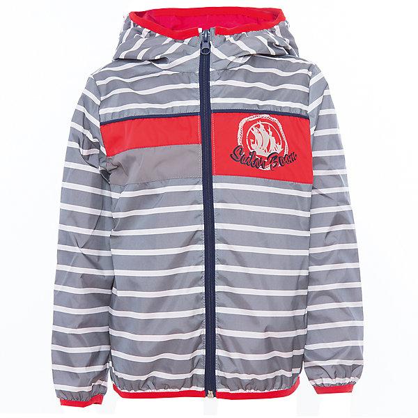 Куртка для мальчика BOOM by OrbyВерхняя одежда<br>Характеристики товара:<br><br>• цвет: серый<br>• состав: верх - таффета, подкладка - поликоттон, полиэстер, без утеплителя<br>• температурный режим: от +5° до +15°С<br>• пропитка от промокания<br>• застежка - молния<br>• капюшон <br>• украшена принтом<br>• легкая<br>• комфортная посадка<br>• страна производства: Российская Федерация<br>• страна бренда: Российская Федерация<br>• коллекция: весна-лето 2017<br><br>Легкая куртка - универсальный вариант и для прохладного летнего вечера, и для теплого межсезонья. Эта модель - модная и удобная одновременно! Изделие отличается стильным ярким дизайном. Куртка хорошо сидит по фигуре, отлично сочетается с различным низом. Вещь была разработана специально для детей.<br><br>Одежда от российского бренда BOOM by Orby уже завоевала популярностью у многих детей и их родителей. Вещи, выпускаемые компанией, качественные, продуманные и очень удобные. Для производства коллекций используются только безопасные для детей материалы. Спешите приобрести модели из новой коллекции Весна-лето 2017! <br><br>Куртку для мальчика от бренда BOOM by Orby можно купить в нашем интернет-магазине.<br>Ширина мм: 356; Глубина мм: 10; Высота мм: 245; Вес г: 519; Цвет: серый; Возраст от месяцев: 18; Возраст до месяцев: 24; Пол: Мужской; Возраст: Детский; Размер: 104,92,158,152,146,140,134,128,110,98,86,122,116; SKU: 5343904;