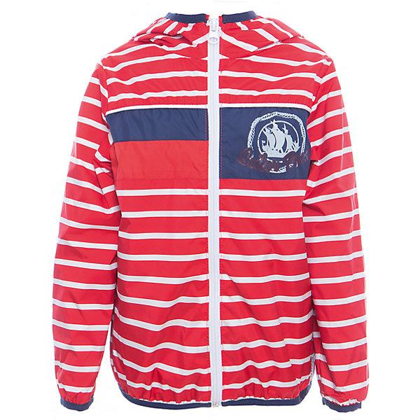 Куртка для мальчика BOOM by OrbyПолоска<br>Характеристики товара:<br><br>• цвет: красный<br>• состав: верх - таффета, подкладка - поликоттон, полиэстер, без утеплителя<br>• температурный режим: от +5° до +15°С<br>• пропитка от промокания<br>• застежка - молния<br>• капюшон <br>• украшена принтом<br>• легкая<br>• комфортная посадка<br>• страна производства: Российская Федерация<br>• страна бренда: Российская Федерация<br>• коллекция: весна-лето 2017<br><br>Легкая куртка - универсальный вариант и для прохладного летнего вечера, и для теплого межсезонья. Эта модель - модная и удобная одновременно! Изделие отличается стильным ярким дизайном. Куртка хорошо сидит по фигуре, отлично сочетается с различным низом. Вещь была разработана специально для детей.<br><br>Одежда от российского бренда BOOM by Orby уже завоевала популярностью у многих детей и их родителей. Вещи, выпускаемые компанией, качественные, продуманные и очень удобные. Для производства коллекций используются только безопасные для детей материалы. Спешите приобрести модели из новой коллекции Весна-лето 2017! <br><br>Куртку для мальчика от бренда BOOM by Orby можно купить в нашем интернет-магазине.<br><br>Ширина мм: 356<br>Глубина мм: 10<br>Высота мм: 245<br>Вес г: 519<br>Цвет: красный<br>Возраст от месяцев: 72<br>Возраст до месяцев: 84<br>Пол: Мужской<br>Возраст: Детский<br>Размер: 122,104,158,152,146,140,134,128,116,110,98,92,86<br>SKU: 5343918