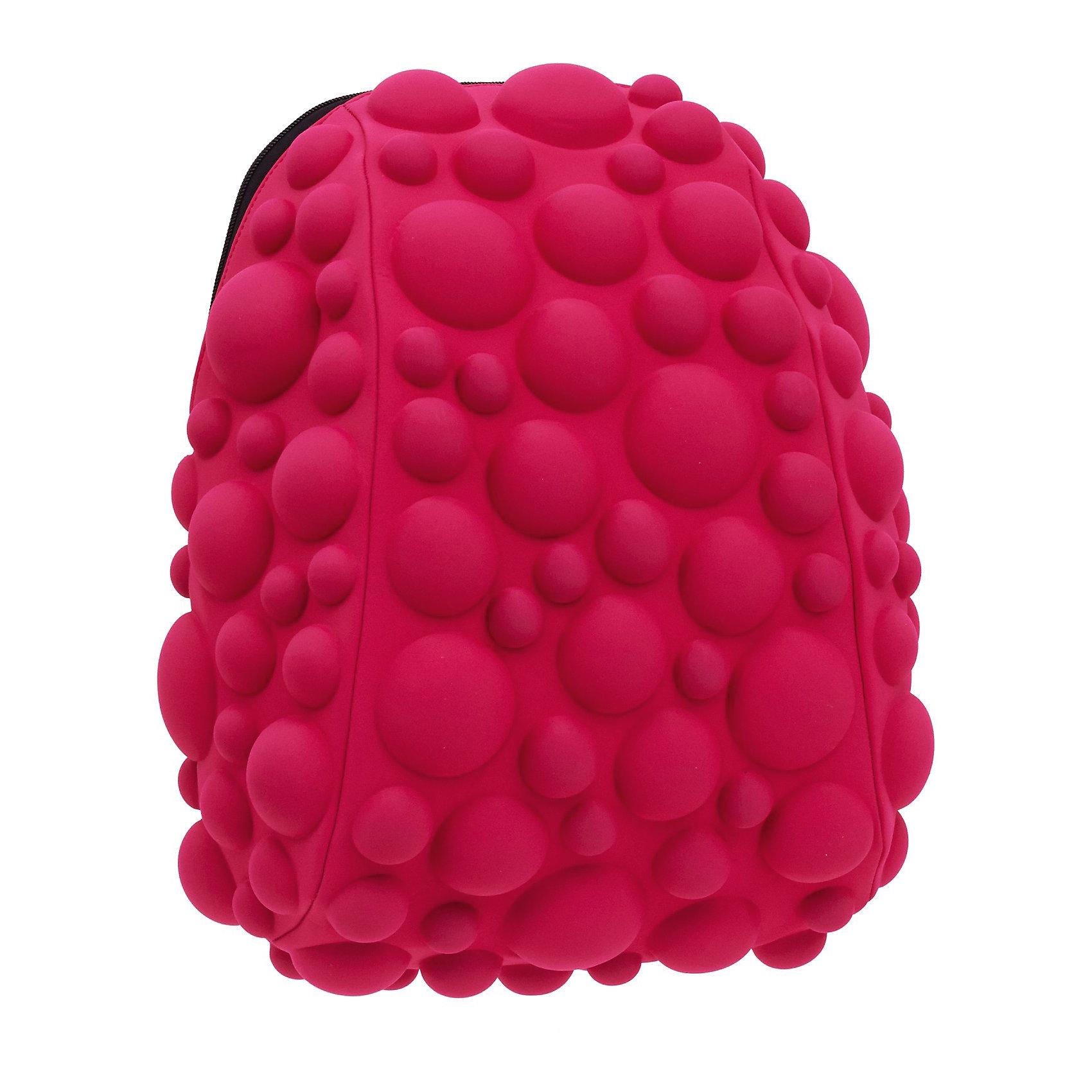 Рюкзак Bubble Half, цвет NEON розовыйРюкзаки<br>Легкий и вместительный рюкзак с одним основным отделением с застежкой на молниии. В основное отделение с легкостью входит ноутбук  размером диагонали 13 дюймов, iPad и формат А4. Незаменимый аксессуар как для активного городского жителя, так и для школьников и студентов. Широкие лямки можно регулировать для наиболее удобной посадки, а мягкая ортопедическая спинка делает ношение наиболее удобным и комфортным.<br><br>Ширина мм: 36<br>Глубина мм: 31<br>Высота мм: 15<br>Вес г: 600<br>Возраст от месяцев: 84<br>Возраст до месяцев: 420<br>Пол: Женский<br>Возраст: Детский<br>SKU: 5344321
