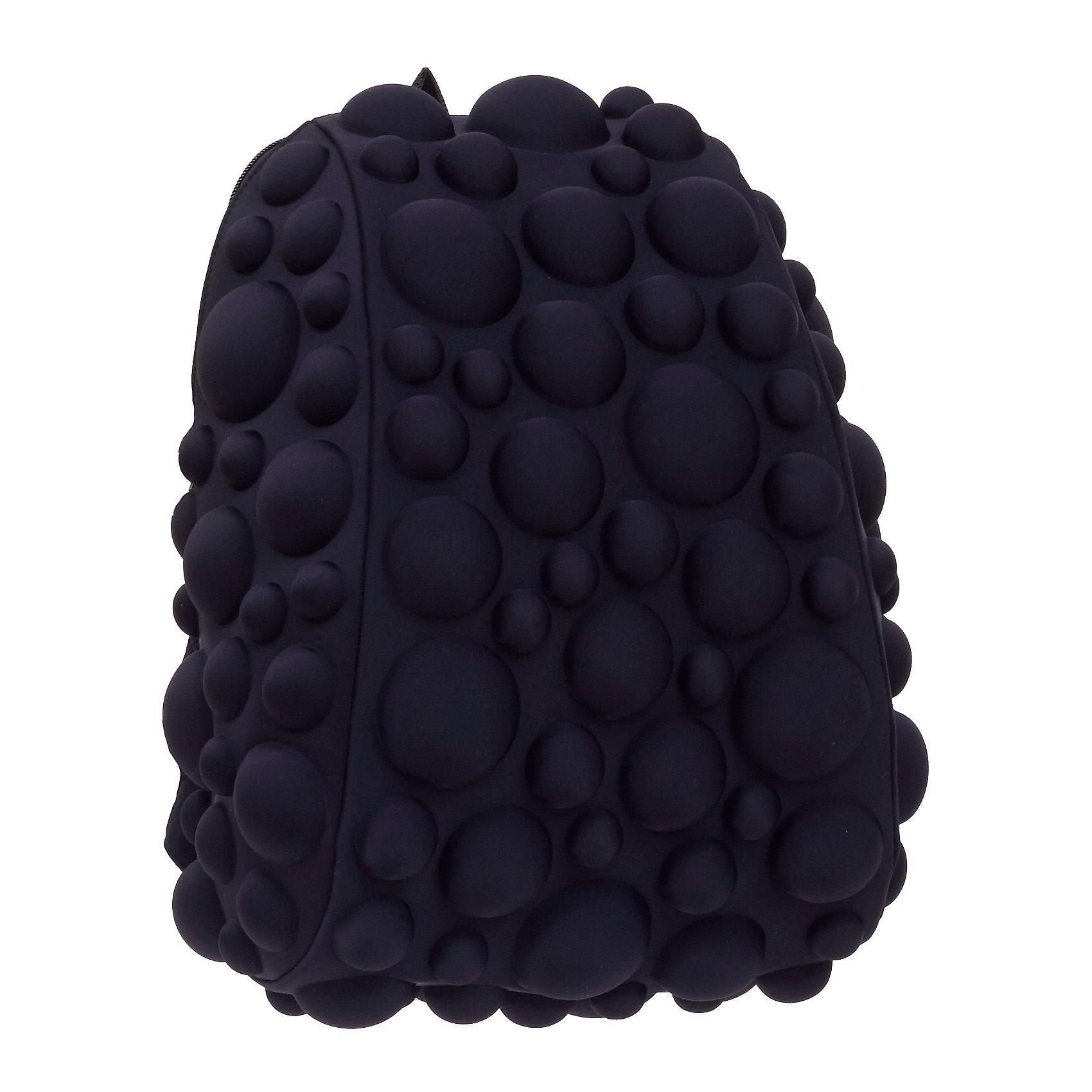 Рюкзак Bubble Half, цвет NEON черныйРюкзаки<br>Легкий и вместительный рюкзак с одним основным отделением с застежкой на молниии. В основное отделение с легкостью входит ноутбук  размером диагонали 13 дюймов, iPad и формат А4. Незаменимый аксессуар как для активного городского жителя, так и для школьников и студентов. Широкие лямки можно регулировать для наиболее удобной посадки, а мягкая ортопедическая спинка делает ношение наиболее удобным и комфортным.<br><br>Ширина мм: 36<br>Глубина мм: 31<br>Высота мм: 15<br>Вес г: 600<br>Возраст от месяцев: 84<br>Возраст до месяцев: 420<br>Пол: Унисекс<br>Возраст: Детский<br>SKU: 5344322