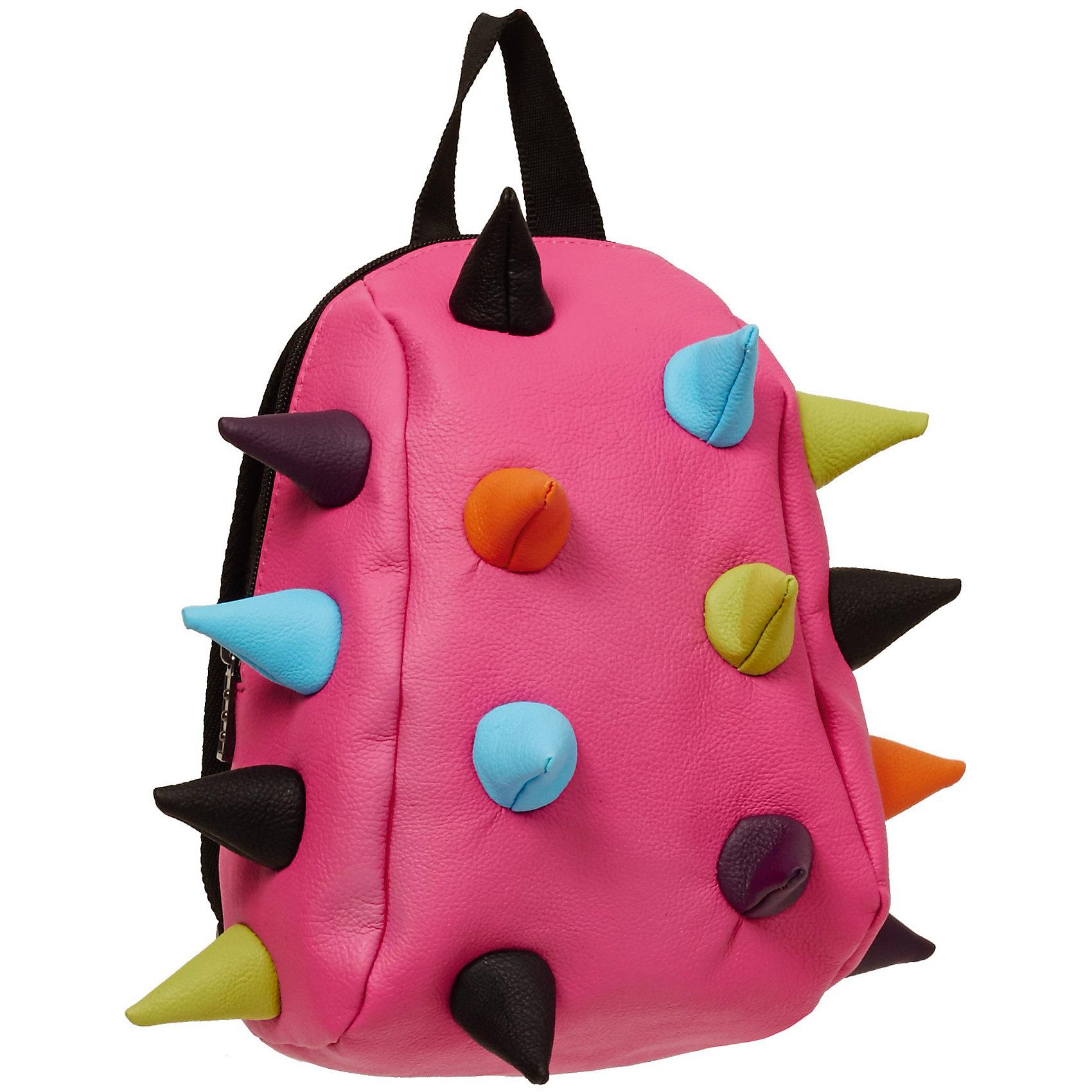 Рюкзак Rex Pint Mini 2, цвет розовый мультиРюкзаки<br>Стильный рюкзак-мини «Rex Mini» несомненно порадует маленьких детей.<br>Маленькие вместительные монстрики, приведут в восторг беззаботных детишек, а заодно решат проблему родителей с хранением всякой мелочи, как например, запасной футболки с любимым героем мультфильма, карандашами и другими мелкими, но не менее необходимыми личными вещами малышей.<br>Рюкзак имеет один просторный отсек с застежкой на молнию, длину лямок можно легко регулировать.<br><br>Ширина мм: 31<br>Глубина мм: 23<br>Высота мм: 15<br>Вес г: 272<br>Возраст от месяцев: 36<br>Возраст до месяцев: 420<br>Пол: Унисекс<br>Возраст: Детский<br>SKU: 5344332