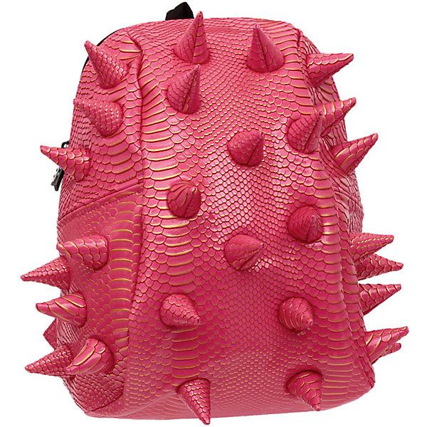 Рюкзак Gator Half, цвет розовый с золотомРюкзаки<br>Легкий и вместительный рюкзак с одним основным отделением с застежкой на молниии. В основное отделение с легкостью входит ноутбук  размером диагонали 13 дюймов, iPad и формат А4. Незаменимый аксессуар как для активного городского жителя, так и для школьников и студентов. Широкие лямки можно регулировать для наиболее удобной посадки, а мягкая ортопедическая спинка делает ношение наиболее удобным и комфортным.<br><br>Ширина мм: 36<br>Глубина мм: 31<br>Высота мм: 15<br>Вес г: 600<br>Возраст от месяцев: 84<br>Возраст до месяцев: 420<br>Пол: Женский<br>Возраст: Детский<br>SKU: 5344333