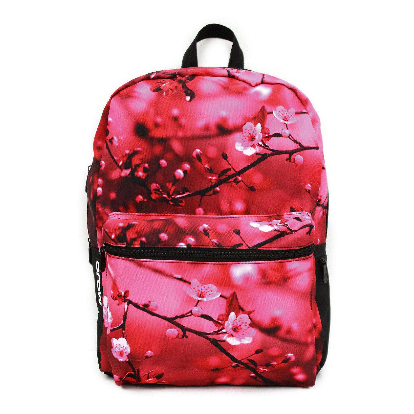 Рюкзак Cherry BlossomРюкзаки<br>БРОСЬ ВЫЗОВ УНЫЛЫМ СЕРЫМ БУДНЯМ!<br>Подари себе и окружающим романтичное настроение с этим рюкзаком от Mojo! Нежный розовый фон и ветки цветущей вишни — идеальное сочетание для модниц, которые привыкли производить впечатление даже в мелочах! Теперь можно с шиком носить с собой все нужное — этот рюкзак не просто впишется в образ, он станет его центром и «изюминкой». В УФ рисунок приобретает поразительный 3D-эффект и начинает светиться сиреневым. Размер: 43х30х16 см, цвет (черный/мульти), MOJO PAX, США<br><br>Ширина мм: 43<br>Глубина мм: 30<br>Высота мм: 16<br>Вес г: 700<br>Возраст от месяцев: 120<br>Возраст до месяцев: 420<br>Пол: Женский<br>Возраст: Детский<br>SKU: 5344341
