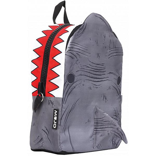 Рюкзак Shark 3D, цвет серый/мультиРюкзаки<br>Этот стильный рюкзак от Mojo прекрасно сочетает в себе черты спорта и динамичного городского стиля. Внешний вид рюкзака в виде  акулы смотрится очень броско, стильно и оригинально. Имитация открытой пасти и острых зубов - необычное решение и креативный подход! Вы не останетесь незамеченными!<br>Ширина мм: 43; Глубина мм: 30; Высота мм: 16; Вес г: 700; Возраст от месяцев: 120; Возраст до месяцев: 420; Пол: Унисекс; Возраст: Детский; SKU: 5344342;