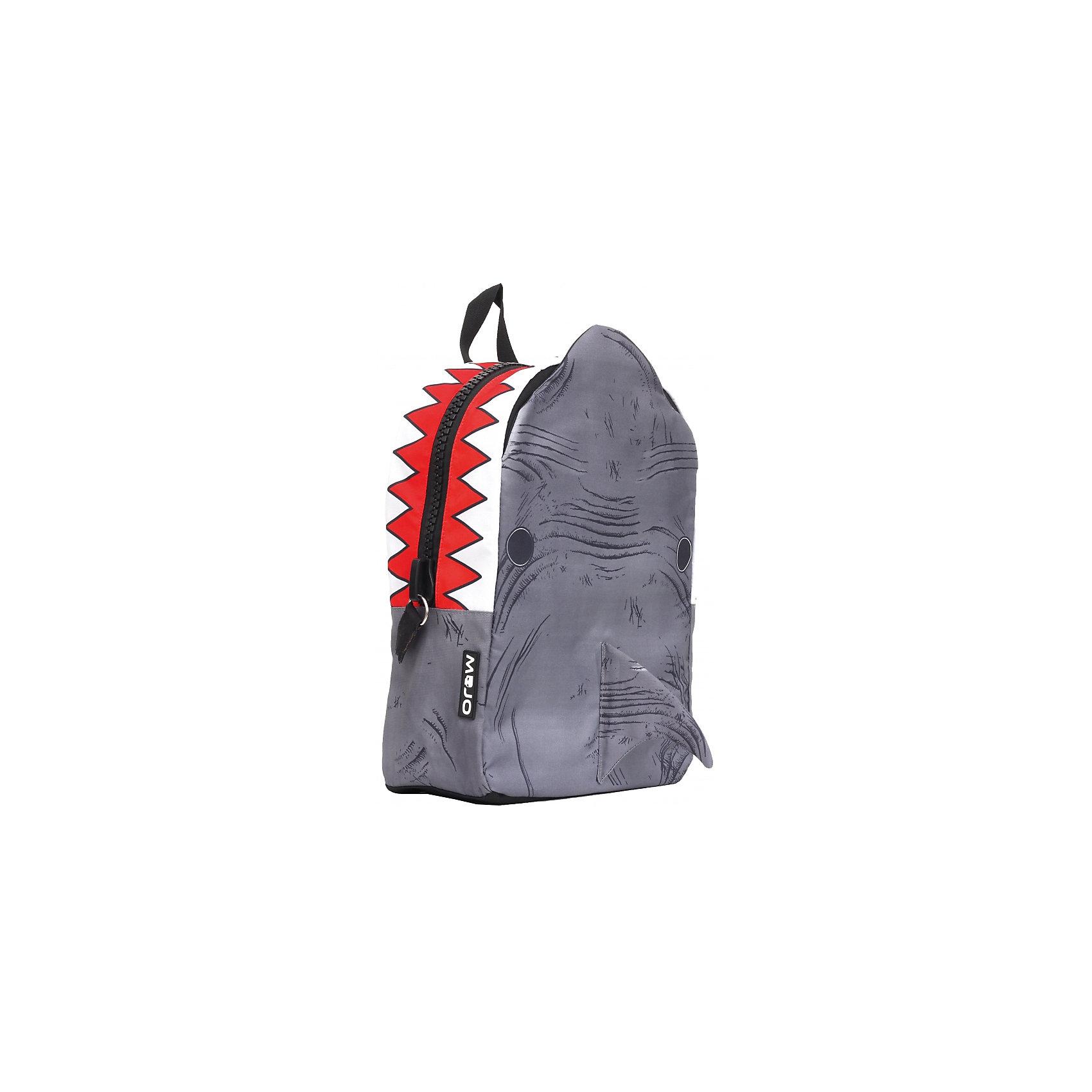 Рюкзак Shark 3D, цвет серый/мультиЭтот стильный рюкзак от Mojo прекрасно сочетает в себе черты спорта и динамичного городского стиля. Внешний вид рюкзака в виде  акулы смотрится очень броско, стильно и оригинально. Имитация открытой пасти и острых зубов - необычное решение и креативный подход! Вы не останетесь незамеченными!<br><br>Ширина мм: 43<br>Глубина мм: 30<br>Высота мм: 16<br>Вес г: 700<br>Возраст от месяцев: 120<br>Возраст до месяцев: 420<br>Пол: Унисекс<br>Возраст: Детский<br>SKU: 5344342