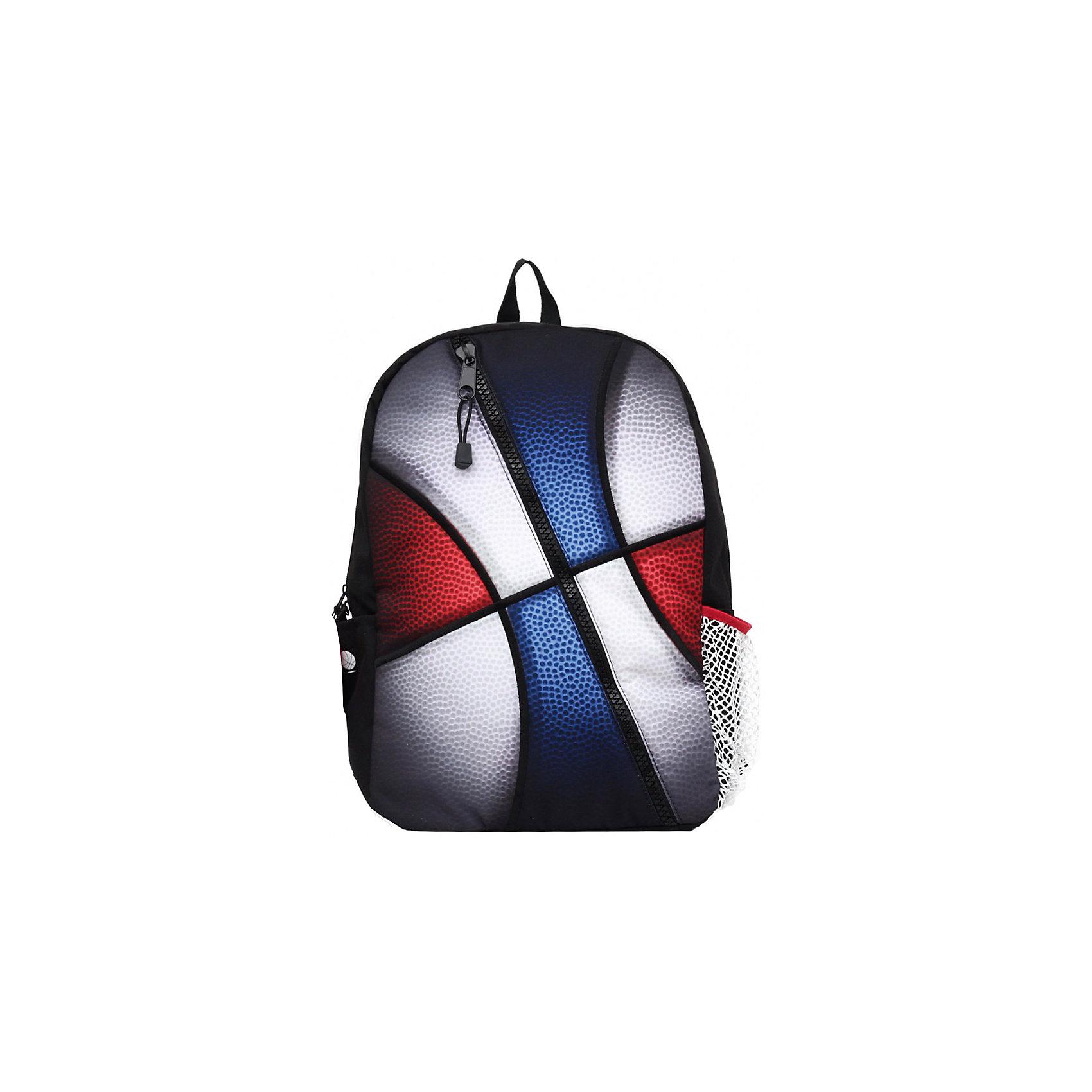 Рюкзак Sport, цвет мультиЭтот стильный рюкзак от Mojo прекрасно сочетает в себе черты спорта и динамичного городского стиля. Расцветка и внешний вид рюкзака в виде мяча смотрится очень броско, стильно и оригинально.<br><br>Ширина мм: 43<br>Глубина мм: 30<br>Высота мм: 16<br>Вес г: 700<br>Возраст от месяцев: 120<br>Возраст до месяцев: 420<br>Пол: Унисекс<br>Возраст: Детский<br>SKU: 5344344