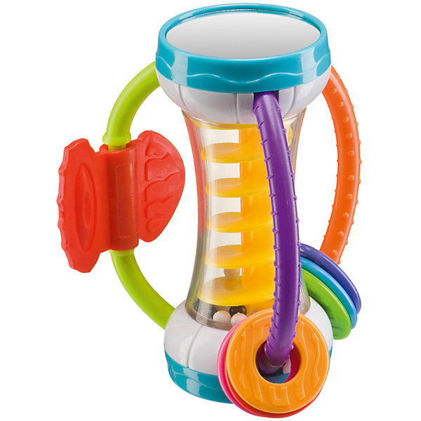 Игрушка-погремушка SPIRALIUM, Happy BabyИгрушки для новорожденных<br>Характеристики товара:<br><br>• материал: пластик<br>• возраст: от 3-х месяцев<br>• вес: 0,15 кг<br>• размер упаковки: 21x12x6 см<br>• страна бренда: Великобритания<br><br>Многофункциональные игрушки нового поколения – безусловный фаворит в современной детской комнате. Новая модель сочетает в себе классическую погремушку, развивающую мелкую моторику и зрительную координацию, а так же прорезыватель для зубов, расположенный на ручках у игрушки. Материалы, использованные при изготовлении товаров, проходят проверку на качество и соответствие международным требованиям по безопасности.<br><br>Товар «Игрушка-погремушка SPIRALIUM, Happy Baby» можно купить в нашем интернет-магазине.<br><br>Ширина мм: 9999<br>Глубина мм: 9999<br>Высота мм: 9999<br>Вес г: 9999<br>Возраст от месяцев: 3<br>Возраст до месяцев: 36<br>Пол: Унисекс<br>Возраст: Детский<br>SKU: 5345690