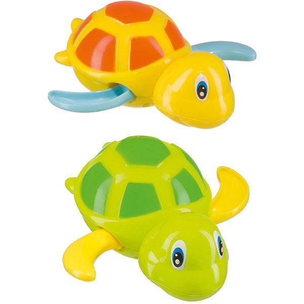 Игрушка SWIMMING TURTLE, Happy BabyИгрушки для ванной<br>Характеристики товара:<br><br>• возраст: от 1 года;<br>• материал: пластик;<br>• в комплекте: 2 черепашки;<br>• размер упаковки: 30х16х6 см;<br>• вес упаковки: 150 гр.;<br>• страна производитель: Китай.<br><br>Игрушка «Swimming Turtle» Happy Baby превратит купание в занимательный и веселый процесс. В наборе 2 цветные черепашки, которые умеют плавать на воде. Достаточно повернуть рычажок на брюшке, чтобы завести черепашку. Черепашки начнут двигать ластами и совершать заплывы по воде. В процессе игры у малыша развиваются мелкая моторика рук, логическое мышление, фантазия.<br><br>Игрушку «Swimming Turtle» Happy Baby можно приобрести в нашем интернет-магазине.<br><br>Ширина мм: 9999<br>Глубина мм: 9999<br>Высота мм: 9999<br>Вес г: 9999<br>Возраст от месяцев: 3<br>Возраст до месяцев: 2147483647<br>Пол: Унисекс<br>Возраст: Детский<br>SKU: 5345706