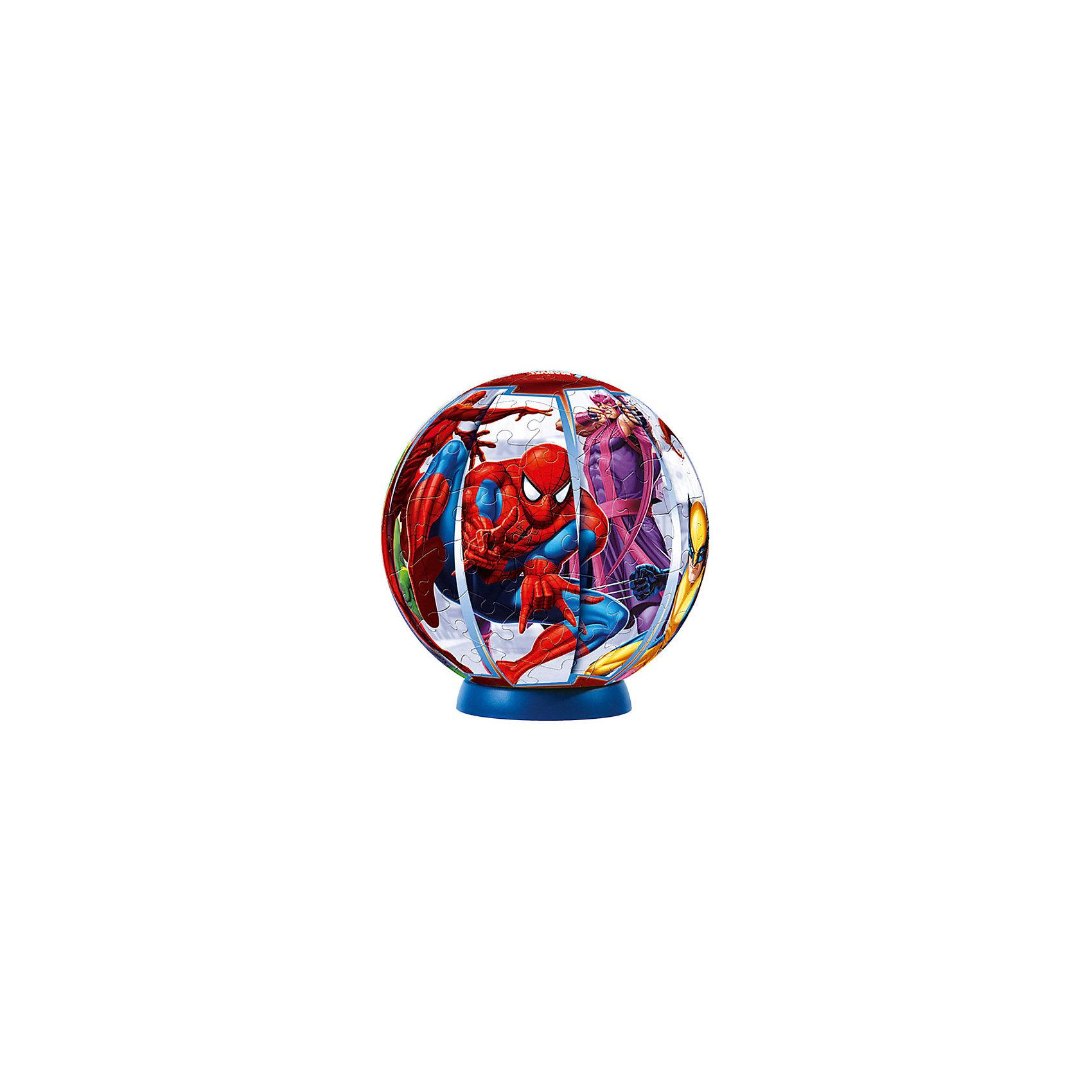 Пазл-шар Marvel, 108 деталейПазлы-шары<br>Характеристики товара:<br><br>• возраст: от 6 лет;<br>• материал: пластик;<br>• в комплекте: 108 элементов, подставка;<br>• диаметр шара: 14 см;<br>• размер упаковки: 23х21,5х5 см;<br>• вес упаковки: 330 гр.;<br>• страна производитель: Россия.<br><br>Пазл-шар «Marvel» Step Puzzle — оригинальный пазл, элементы которого имеют изогнутую форму и собираются вместе, образуя шар. Собрав его, получается объемная фигура с изображениями известных супергероев комиксов.<br><br>В процессе сборки пазла развиваются мелкая моторика рук, усидчивость, внимательность, логическое мышление. Все детали выполнены из качественного прочного пластика и надежно скрепляются между собой.<br><br>Пазл-шар «Marvel» Step Puzzle можно приобрести в нашем интернет-магазине.<br><br>Ширина мм: 230<br>Глубина мм: 215<br>Высота мм: 50<br>Вес г: 330<br>Возраст от месяцев: 72<br>Возраст до месяцев: 2147483647<br>Пол: Мужской<br>Возраст: Детский<br>Количество деталей: 108<br>SKU: 5346215