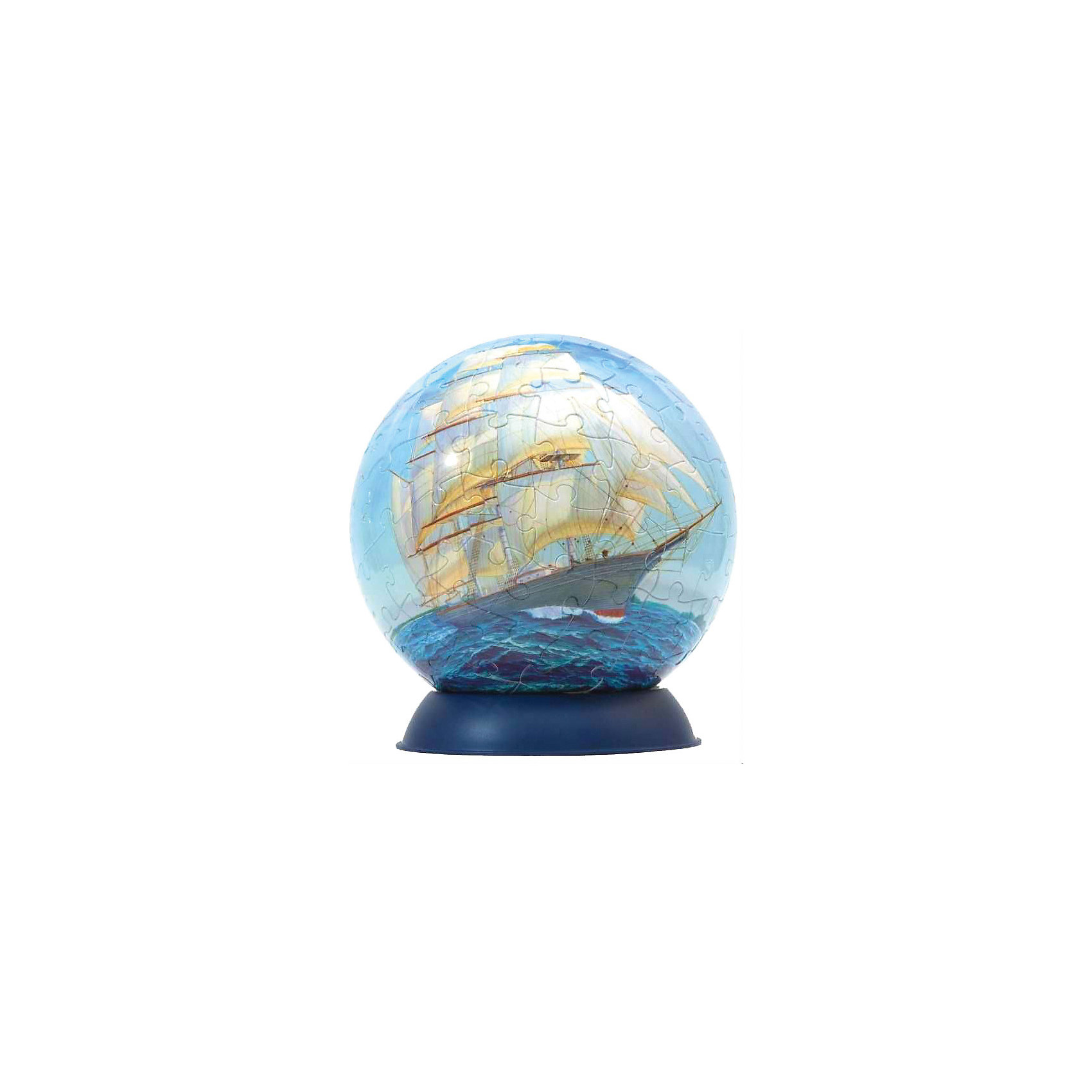 Пазл-шар Корабли, 108 деталейПазлы-шары<br>Характеристики товара:<br><br>• возраст: от 6 лет;<br>• материал: пластик;<br>• в комплекте: 108 элементов, подставка;<br>• диаметр шара: 14 см;<br>• размер упаковки: 23х21,5х5 см;<br>• вес упаковки: 330 гр.;<br>• страна производитель: Россия.<br><br>Пазл-шар «Корабли» Step Puzzle — оригинальный пазл, элементы которого имеют изогнутую форму и собираются вместе, образуя шар. Собрав его, получается объемная фигура с яркими изображениями.<br><br>В процессе сборки пазла развиваются мелкая моторика рук, усидчивость, внимательность, логическое мышление. Все детали выполнены из качественного прочного пластика и надежно скрепляются между собой.<br><br>Пазл-шар «Корабли» Step Puzzle можно приобрести в нашем интернет-магазине.<br><br>Ширина мм: 230<br>Глубина мм: 215<br>Высота мм: 50<br>Вес г: 330<br>Возраст от месяцев: 72<br>Возраст до месяцев: 2147483647<br>Пол: Унисекс<br>Возраст: Детский<br>Количество деталей: 108<br>SKU: 5346230