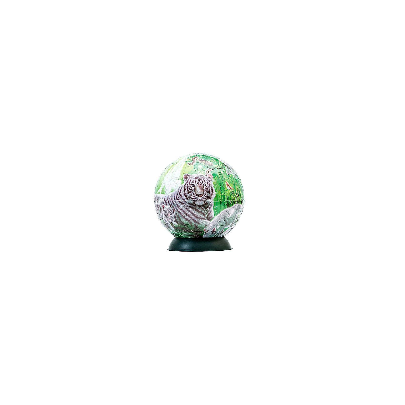 Пазл-шар Волшебный лес, 240 деталей3D пазлы<br>Характеристики товара:<br><br>• возраст: от 6 лет;<br>• материал: пластик;<br>• в комплекте: 240 элементов, подставка;<br>• диаметр шара: 15 см;<br>• размер упаковки: 23х21,5х5 см;<br>• вес упаковки: 370 гр.;<br>• страна производитель: Россия.<br><br>Пазл-шар «Волшебный лес» Step Puzzle — оригинальный пазл, элементы которого имеют изогнутую форму и собираются вместе, образуя шар. Собрав его, получается объемная фигура с яркими изображениями.<br><br>В процессе сборки пазла развиваются мелкая моторика рук, усидчивость, внимательность, логическое мышление. Все детали выполнены из качественного прочного пластика и надежно скрепляются между собой.<br><br>Пазл-шар «Волшебный лес» Step Puzzle можно приобрести в нашем интернет-магазине.<br><br>Ширина мм: 230<br>Глубина мм: 215<br>Высота мм: 50<br>Вес г: 370<br>Возраст от месяцев: 72<br>Возраст до месяцев: 2147483647<br>Пол: Женский<br>Возраст: Детский<br>Количество деталей: 240<br>SKU: 5346233