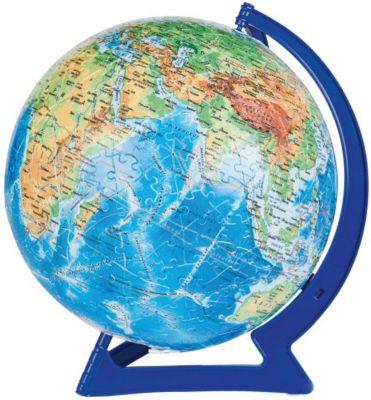 Степ Пазл Пазл-Шар Физическая Карта Мира , 540 Деталей