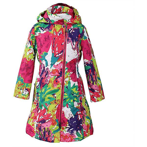 Купить Пальто для девочки LUISA Huppa, Эстония, разноцветный, 110, 104, 164, 158, 152, 146, 140, 134, 128, 122, 116, Женский