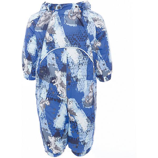 Комбинезон GOLDEN для мальчика HuppaВерхняя одежда<br>Характеристики товара:<br><br>• цвет: синий принт<br>• ткань: 100% полиэстер<br>• подкладка: фланель - 100% хлопок<br>• утеплитель: 100% полиэстер 100 г<br>• температурный режим: от -5°С до +10°С<br>• водонепроницаемость: 5000 мм<br>• воздухопроницаемость: 5000 мм<br>• светоотражающие детали<br>• мягкая подкладка<br>• шов сидения и боковые швы проклеены<br>• съёмный капюшон с резинкой<br>• манжеты рукавов с резинкой<br>• манжеты с отворотом у размеров 62-80<br>• манжеты брюк с резинкой<br>• съёмные эластичные штрипки<br>• без внутренних швов<br>• коллекция: весна-лето 2017<br>• страна бренда: Эстония<br><br>Этот удобный комбинезон обеспечит детям тепло и комфорт. Он сделан из материала, отталкивающего воду, и дополнен подкладкой с утеплителем, поэтому изделие идеально подходит для межсезонья. Материал изделия - с мембранной технологией: защищая от влаги и ветра, он легко выводит лишнюю влагу наружу. Комбинезон очень симпатично смотрится. <br><br>Одежда и обувь от популярного эстонского бренда Huppa - отличный вариант одеть ребенка можно и комфортно. Вещи, выпускаемые компанией, качественные, продуманные и очень удобные. Для производства изделий используются только безопасные для детей материалы. Продукция от Huppa порадует и детей, и их родителей!<br><br>Комбинезон GOLDEN от бренда Huppa (Хуппа) можно купить в нашем интернет-магазине.<br>Ширина мм: 356; Глубина мм: 10; Высота мм: 245; Вес г: 519; Цвет: синий; Возраст от месяцев: 12; Возраст до месяцев: 18; Пол: Мужской; Возраст: Детский; Размер: 86,62,68,74,80; SKU: 5346452;