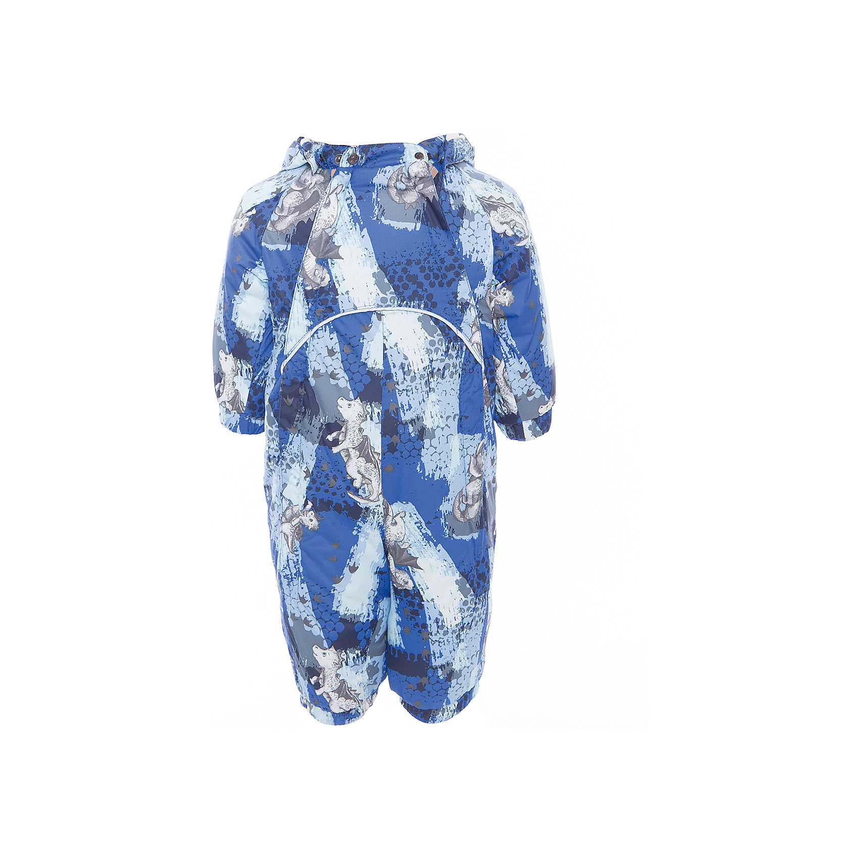 Комбинезон GOLDEN для мальчика HuppaВерхняя одежда<br>Характеристики товара:<br><br>• цвет: синий принт<br>• ткань: 100% полиэстер<br>• подкладка: фланель - 100% хлопок<br>• утеплитель: 100% полиэстер 100 г<br>• температурный режим: от -5°С до +10°С<br>• водонепроницаемость: 5000 мм<br>• воздухопроницаемость: 5000 мм<br>• светоотражающие детали<br>• мягкая подкладка<br>• шов сидения и боковые швы проклеены<br>• съёмный капюшон с резинкой<br>• манжеты рукавов с резинкой<br>• манжеты с отворотом у размеров 62-80<br>• манжеты брюк с резинкой<br>• съёмные эластичные штрипки<br>• без внутренних швов<br>• коллекция: весна-лето 2017<br>• страна бренда: Эстония<br><br>Этот удобный комбинезон обеспечит детям тепло и комфорт. Он сделан из материала, отталкивающего воду, и дополнен подкладкой с утеплителем, поэтому изделие идеально подходит для межсезонья. Материал изделия - с мембранной технологией: защищая от влаги и ветра, он легко выводит лишнюю влагу наружу. Комбинезон очень симпатично смотрится. <br><br>Одежда и обувь от популярного эстонского бренда Huppa - отличный вариант одеть ребенка можно и комфортно. Вещи, выпускаемые компанией, качественные, продуманные и очень удобные. Для производства изделий используются только безопасные для детей материалы. Продукция от Huppa порадует и детей, и их родителей!<br><br>Комбинезон GOLDEN от бренда Huppa (Хуппа) можно купить в нашем интернет-магазине.<br><br>Ширина мм: 356<br>Глубина мм: 10<br>Высота мм: 245<br>Вес г: 519<br>Цвет: синий<br>Возраст от месяцев: 6<br>Возраст до месяцев: 9<br>Пол: Мужской<br>Возраст: Детский<br>Размер: 74,80,86,62,68<br>SKU: 5346452