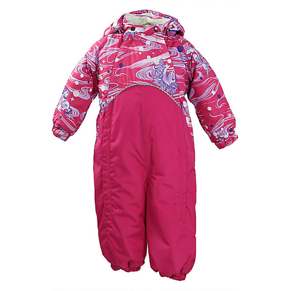 Комбинезон GOLDEN для девочки HuppaВерхняя одежда<br>Характеристики товара:<br><br>• цвет: фуксия принт<br>• ткань: 100% полиэстер<br>• подкладка: фланель - 100% хлопок<br>• утеплитель: 100% полиэстер 100 г<br>• температурный режим: от -5°С до +10°С<br>• водонепроницаемость: верх - 5000 мм, низ - 10000 мм<br>• воздухопроницаемость: верх - 5000 мм, низ - 10000 мм<br>• светоотражающие детали<br>• мягкая подкладка<br>• шов сидения и боковые швы проклеены<br>• съёмный капюшон с резинкой<br>• манжеты рукавов с резинкой<br>• манжеты с отворотом у размеров 62-80<br>• манжеты брюк с резинкой<br>• съёмные эластичные штрипки<br>• без внутренних швов<br>• коллекция: весна-лето 2017<br>• страна бренда: Эстония<br><br>Этот удобный комбинезон обеспечит детям тепло и комфорт. Он сделан из материала, отталкивающего воду, и дополнен подкладкой с утеплителем, поэтому изделие идеально подходит для межсезонья. Материал изделия - с мембранной технологией: защищая от влаги и ветра, он легко выводит лишнюю влагу наружу. Комбинезон очень симпатично смотрится. <br><br>Одежда и обувь от популярного эстонского бренда Huppa - отличный вариант одеть ребенка можно и комфортно. Вещи, выпускаемые компанией, качественные, продуманные и очень удобные. Для производства изделий используются только безопасные для детей материалы. Продукция от Huppa порадует и детей, и их родителей!<br><br>Комбинезон GOLDEN от бренда Huppa (Хуппа) можно купить в нашем интернет-магазине.<br>Ширина мм: 356; Глубина мм: 10; Высота мм: 245; Вес г: 519; Цвет: лиловый; Возраст от месяцев: 24; Возраст до месяцев: 36; Пол: Женский; Возраст: Детский; Размер: 98,74,92,86,80; SKU: 5346488;