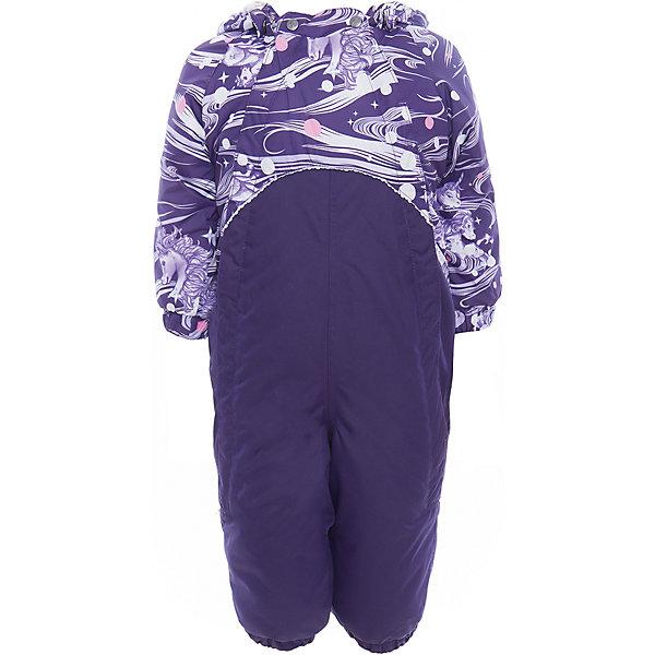 Комбинезон GOLDEN для девочки HuppaВерхняя одежда<br>Характеристики товара:<br><br>• цвет: тёмно-фиолетовый принт<br>• ткань: 100% полиэстер<br>• подкладка: фланель - 100% хлопок<br>• утеплитель: 100% полиэстер 100 г<br>• температурный режим: от -5°С до +10°С<br>• водонепроницаемость: верх - 5000 мм, низ - 10000 мм<br>• воздухопроницаемость: верх - 5000 мм, низ - 10000 мм<br>• светоотражающие детали<br>• мягкая подкладка<br>• шов сидения и боковые швы проклеены<br>• съёмный капюшон с резинкой<br>• манжеты рукавов с резинкой<br>• манжеты с отворотом у размеров 62-80<br>• манжеты брюк с резинкой<br>• съёмные эластичные штрипки<br>• без внутренних швов<br>• коллекция: весна-лето 2017<br>• страна бренда: Эстония<br><br>Этот удобный комбинезон обеспечит детям тепло и комфорт. Он сделан из материала, отталкивающего воду, и дополнен подкладкой с утеплителем, поэтому изделие идеально подходит для межсезонья. Материал изделия - с мембранной технологией: защищая от влаги и ветра, он легко выводит лишнюю влагу наружу. Комбинезон очень симпатично смотрится. <br><br>Одежда и обувь от популярного эстонского бренда Huppa - отличный вариант одеть ребенка можно и комфортно. Вещи, выпускаемые компанией, качественные, продуманные и очень удобные. Для производства изделий используются только безопасные для детей материалы. Продукция от Huppa порадует и детей, и их родителей!<br><br>Комбинезон GOLDEN от бренда Huppa (Хуппа) можно купить в нашем интернет-магазине.<br>Ширина мм: 356; Глубина мм: 10; Высота мм: 245; Вес г: 519; Цвет: розовый; Возраст от месяцев: 6; Возраст до месяцев: 9; Пол: Женский; Возраст: Детский; Размер: 74,98,92,86,80; SKU: 5346494;