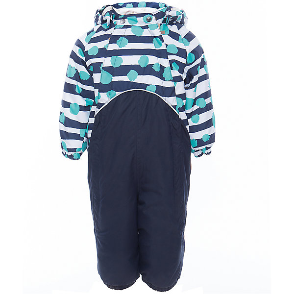 Комбинезон GOLDEN для мальчика HuppaВерхняя одежда<br>Характеристики товара:<br><br>• цвет: синий принт<br>• ткань: 100% полиэстер<br>• подкладка: фланель - 100% хлопок<br>• утеплитель: 100% полиэстер 100 г<br>• температурный режим: от -5°С до +10°С<br>• водонепроницаемость: 10000 мм<br>• воздухопроницаемость: 10000 мм<br>• светоотражающие детали<br>• мягкая подкладка<br>• шов сидения и боковые швы проклеены<br>• съёмный капюшон с резинкой<br>• манжеты рукавов с резинкой<br>• манжеты с отворотом у размеров 62-80<br>• манжеты брюк с резинкой<br>• съёмные эластичные штрипки<br>• без внутренних швов<br>• коллекция: весна-лето 2017<br>• страна бренда: Эстония<br><br>Этот удобный комбинезон обеспечит детям тепло и комфорт. Он сделан из материала, отталкивающего воду, и дополнен подкладкой с утеплителем, поэтому изделие идеально подходит для межсезонья. Материал изделия - с мембранной технологией: защищая от влаги и ветра, он легко выводит лишнюю влагу наружу. Комбинезон очень симпатично смотрится. <br><br>Одежда и обувь от популярного эстонского бренда Huppa - отличный вариант одеть ребенка можно и комфортно. Вещи, выпускаемые компанией, качественные, продуманные и очень удобные. Для производства изделий используются только безопасные для детей материалы. Продукция от Huppa порадует и детей, и их родителей!<br><br>Комбинезон GOLDEN от бренда Huppa (Хуппа) можно купить в нашем интернет-магазине.<br>Ширина мм: 356; Глубина мм: 10; Высота мм: 245; Вес г: 519; Цвет: синий; Возраст от месяцев: 24; Возраст до месяцев: 36; Пол: Мужской; Возраст: Детский; Размер: 98,74,92,86,80; SKU: 5346500;