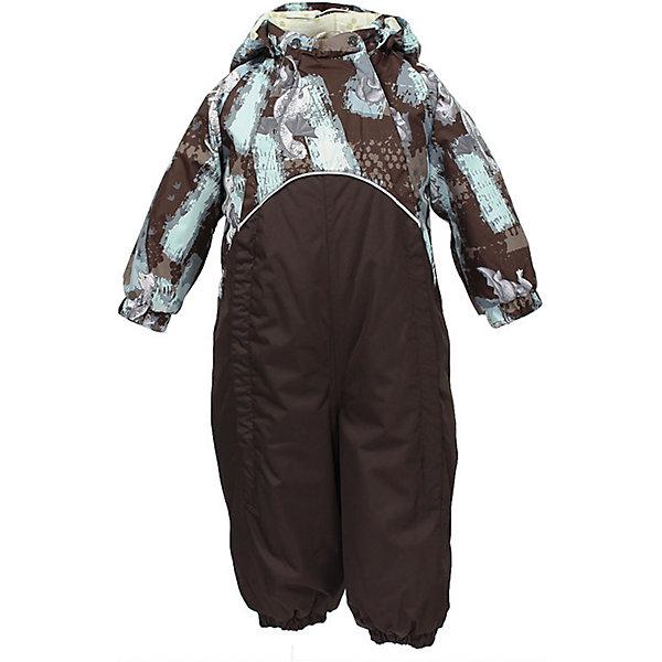 Комбинезон GOLDEN HuppaВерхняя одежда<br>Характеристики товара:<br><br>• цвет: коричневый принт<br>• ткань: 100% полиэстер<br>• подкладка: фланель - 100% хлопок<br>• утеплитель: 100% полиэстер 100 г<br>• температурный режим: от -5°С до +10°С<br>• водонепроницаемость: верх - 5000 мм, низ - 10000 мм<br>• воздухопроницаемость: верх - 5000 мм, низ - 10000 мм<br>• светоотражающие детали<br>• мягкая подкладка<br>• шов сидения и боковые швы проклеены<br>• съёмный капюшон с резинкой<br>• манжеты рукавов с резинкой<br>• манжеты с отворотом у размеров 62-80<br>• манжеты брюк с резинкой<br>• съёмные эластичные штрипки<br>• без внутренних швов<br>• коллекция: весна-лето 2017<br>• страна бренда: Эстония<br><br>Этот удобный комбинезон обеспечит детям тепло и комфорт. Он сделан из материала, отталкивающего воду, и дополнен подкладкой с утеплителем, поэтому изделие идеально подходит для межсезонья. Материал изделия - с мембранной технологией: защищая от влаги и ветра, он легко выводит лишнюю влагу наружу. Комбинезон очень симпатично смотрится. <br><br>Одежда и обувь от популярного эстонского бренда Huppa - отличный вариант одеть ребенка можно и комфортно. Вещи, выпускаемые компанией, качественные, продуманные и очень удобные. Для производства изделий используются только безопасные для детей материалы. Продукция от Huppa порадует и детей, и их родителей!<br><br>Комбинезон GOLDEN от бренда Huppa (Хуппа) можно купить в нашем интернет-магазине.<br><br>Ширина мм: 356<br>Глубина мм: 10<br>Высота мм: 245<br>Вес г: 519<br>Цвет: коричневый<br>Возраст от месяцев: 24<br>Возраст до месяцев: 36<br>Пол: Унисекс<br>Возраст: Детский<br>Размер: 98,74,92,86,80<br>SKU: 5346512