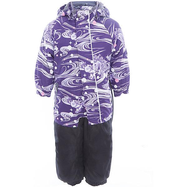 Комбинезон CHRIS для девочки HuppaВерхняя одежда<br>Характеристики товара:<br><br>• цвет: фиолетовый принт<br>• ткань: 100% полиэстер<br>• подкладка: тафта, pritex - 100% полиэстер<br>• утеплитель: 100% полиэстер 100 г<br>• температурный режим: от -5°С до +10°С<br>• водонепроницаемость: верх - 5000 мм, низ - 10000 мм<br>• воздухопроницаемость: верх - 5000 мм, низ - 10000 мм<br>• светоотражающие детали<br>• средний задний шов, боковые и внутренние швы проклеены<br>• съёмный капюшон с резинкой<br>• защита подбородка<br>• эластичные манжеты<br>• манжеты брюк с резинкой<br>• съёмные эластичные штрипки<br>• без внутренних швов<br>• коллекция: весна-лето 2017<br>• страна бренда: Эстония<br><br>Этот удобный комбинезон обеспечит детям тепло и комфорт. Он сделан из материала, отталкивающего воду, и дополнен подкладкой с утеплителем, поэтому изделие идеально подходит для межсезонья. Материал изделия - с мембранной технологией: защищая от влаги и ветра, он легко выводит лишнюю влагу наружу. Комбинезон очень симпатично смотрится. <br><br>Одежда и обувь от популярного эстонского бренда Huppa - отличный вариант одеть ребенка можно и комфортно. Вещи, выпускаемые компанией, качественные, продуманные и очень удобные. Для производства изделий используются только безопасные для детей материалы. Продукция от Huppa порадует и детей, и их родителей!<br><br>Комбинезон GOLDEN от бренда Huppa (Хуппа) можно купить в нашем интернет-магазине.<br><br>Ширина мм: 356<br>Глубина мм: 10<br>Высота мм: 245<br>Вес г: 519<br>Цвет: розовый<br>Возраст от месяцев: 36<br>Возраст до месяцев: 48<br>Пол: Женский<br>Возраст: Детский<br>Размер: 80,86,92,98,104<br>SKU: 5346536