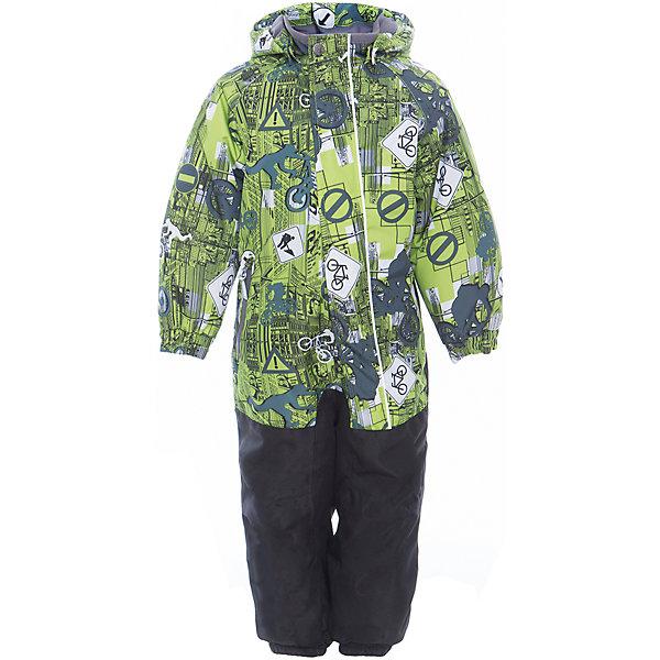 Комбинезон CHRIS для мальчика HuppaВерхняя одежда<br>Характеристики товара:<br><br>• цвет: лайм принт<br>• ткань: 100% полиэстер<br>• подкладка: тафта, pritex - 100% полиэстер<br>• утеплитель: 100% полиэстер 100 г<br>• температурный режим: от -5°С до +10°С<br>• водонепроницаемость: 10000 мм<br>• воздухопроницаемость: 10000 мм<br>• светоотражающие детали<br>• средний задний шов, боковые и внутренние швы проклеены<br>• съёмный капюшон с резинкой<br>• защита подбородка<br>• эластичные манжеты<br>• манжеты брюк с резинкой<br>• съёмные эластичные штрипки<br>• без внутренних швов<br>• коллекция: весна-лето 2017<br>• страна бренда: Эстония<br><br>Этот удобный комбинезон обеспечит детям тепло и комфорт. Он сделан из материала, отталкивающего воду, и дополнен подкладкой с утеплителем, поэтому изделие идеально подходит для межсезонья. Материал изделия - с мембранной технологией: защищая от влаги и ветра, он легко выводит лишнюю влагу наружу. Комбинезон очень симпатично смотрится. <br><br>Одежда и обувь от популярного эстонского бренда Huppa - отличный вариант одеть ребенка можно и комфортно. Вещи, выпускаемые компанией, качественные, продуманные и очень удобные. Для производства изделий используются только безопасные для детей материалы. Продукция от Huppa порадует и детей, и их родителей!<br><br>Комбинезон GOLDEN от бренда Huppa (Хуппа) можно купить в нашем интернет-магазине.<br><br>Ширина мм: 356<br>Глубина мм: 10<br>Высота мм: 245<br>Вес г: 519<br>Цвет: зеленый<br>Возраст от месяцев: 72<br>Возраст до месяцев: 84<br>Пол: Мужской<br>Возраст: Детский<br>Размер: 116,122,110,104,98,92<br>SKU: 5346559
