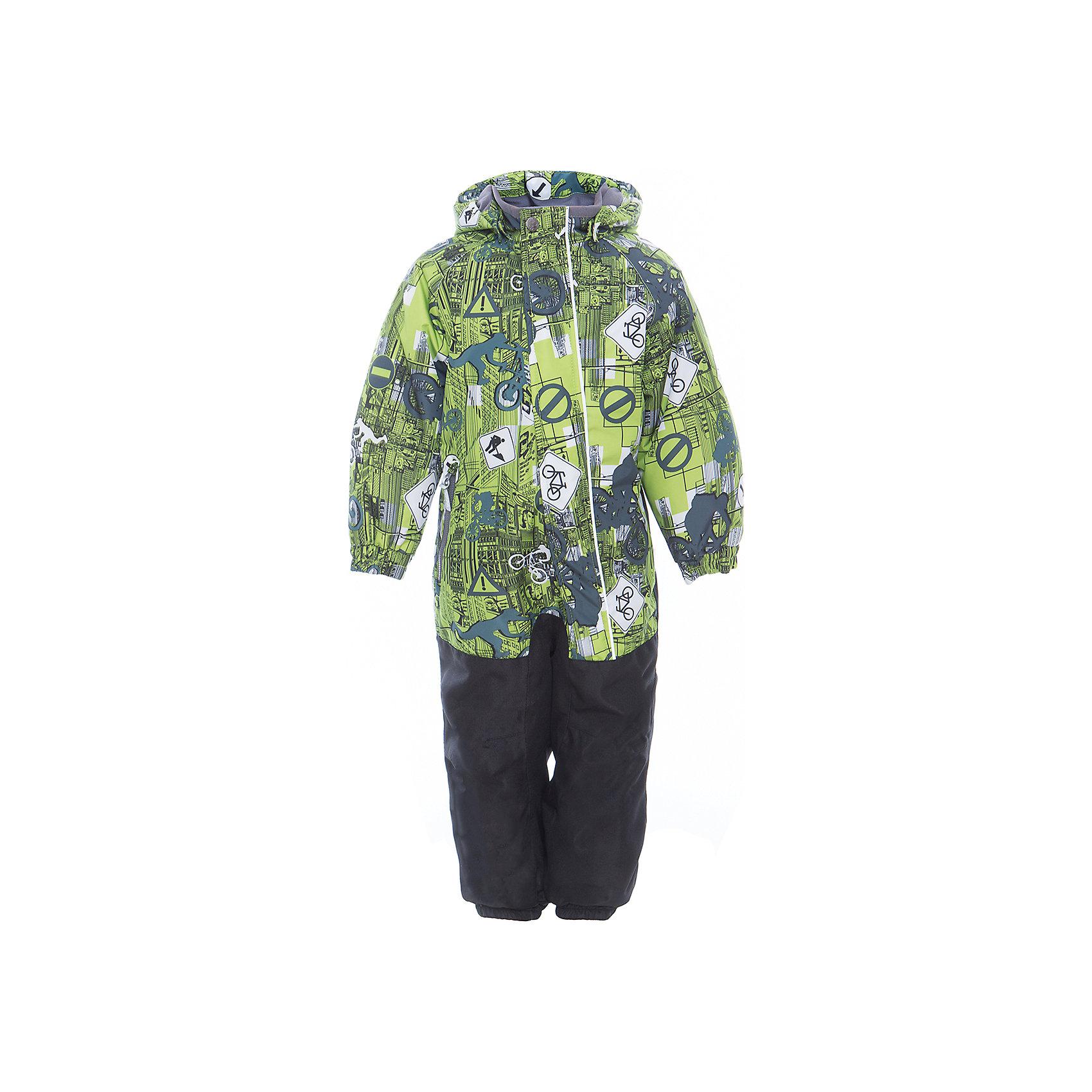 Комбинезон CHRIS для мальчика HuppaВерхняя одежда<br>Характеристики товара:<br><br>• цвет: лайм принт<br>• ткань: 100% полиэстер<br>• подкладка: тафта, pritex - 100% полиэстер<br>• утеплитель: 100% полиэстер 100 г<br>• температурный режим: от -5°С до +10°С<br>• водонепроницаемость: 10000 мм<br>• воздухопроницаемость: 10000 мм<br>• светоотражающие детали<br>• средний задний шов, боковые и внутренние швы проклеены<br>• съёмный капюшон с резинкой<br>• защита подбородка<br>• эластичные манжеты<br>• манжеты брюк с резинкой<br>• съёмные эластичные штрипки<br>• без внутренних швов<br>• коллекция: весна-лето 2017<br>• страна бренда: Эстония<br><br>Этот удобный комбинезон обеспечит детям тепло и комфорт. Он сделан из материала, отталкивающего воду, и дополнен подкладкой с утеплителем, поэтому изделие идеально подходит для межсезонья. Материал изделия - с мембранной технологией: защищая от влаги и ветра, он легко выводит лишнюю влагу наружу. Комбинезон очень симпатично смотрится. <br><br>Одежда и обувь от популярного эстонского бренда Huppa - отличный вариант одеть ребенка можно и комфортно. Вещи, выпускаемые компанией, качественные, продуманные и очень удобные. Для производства изделий используются только безопасные для детей материалы. Продукция от Huppa порадует и детей, и их родителей!<br><br>Комбинезон GOLDEN от бренда Huppa (Хуппа) можно купить в нашем интернет-магазине.<br><br>Ширина мм: 356<br>Глубина мм: 10<br>Высота мм: 245<br>Вес г: 519<br>Цвет: зеленый<br>Возраст от месяцев: 72<br>Возраст до месяцев: 84<br>Пол: Мужской<br>Возраст: Детский<br>Размер: 122,92,98,104,110,116<br>SKU: 5346559