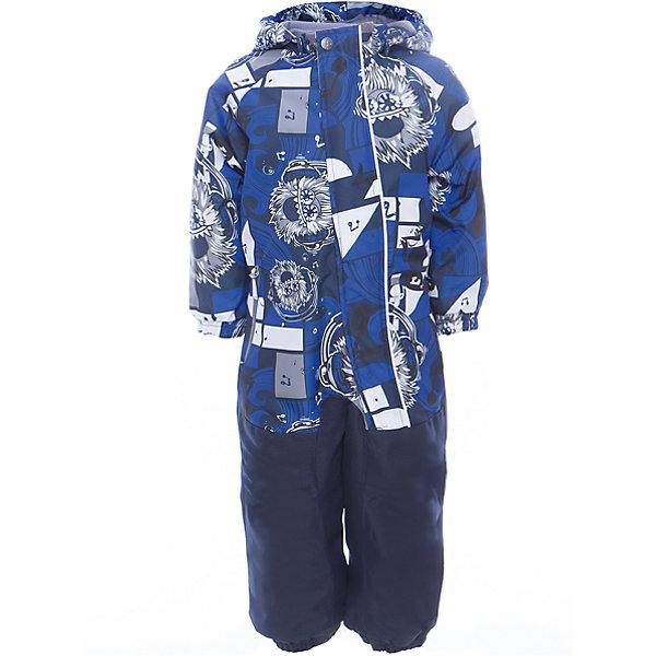Комбинезон CHRIS для мальчика HuppaВерхняя одежда<br>Характеристики товара:<br><br>• цвет: синий принт<br>• ткань: 100% полиэстер<br>• подкладка: тафта, pritex - 100% полиэстер<br>• утеплитель: 100% полиэстер 100 г<br>• температурный режим: от -5°С до +10°С<br>• водонепроницаемость: 10000 мм<br>• воздухопроницаемость: 10000 мм<br>• светоотражающие детали<br>• средний задний шов, боковые и внутренние швы проклеены<br>• съёмный капюшон с резинкой<br>• защита подбородка<br>• эластичные манжеты<br>• манжеты брюк с резинкой<br>• съёмные эластичные штрипки<br>• без внутренних швов<br>• коллекция: весна-лето 2017<br>• страна бренда: Эстония<br><br>Этот удобный комбинезон обеспечит детям тепло и комфорт. Он сделан из материала, отталкивающего воду, и дополнен подкладкой с утеплителем, поэтому изделие идеально подходит для межсезонья. Материал изделия - с мембранной технологией: защищая от влаги и ветра, он легко выводит лишнюю влагу наружу. Комбинезон очень симпатично смотрится. <br><br>Одежда и обувь от популярного эстонского бренда Huppa - отличный вариант одеть ребенка можно и комфортно. Вещи, выпускаемые компанией, качественные, продуманные и очень удобные. Для производства изделий используются только безопасные для детей материалы. Продукция от Huppa порадует и детей, и их родителей!<br><br>Комбинезон GOLDEN от бренда Huppa (Хуппа) можно купить в нашем интернет-магазине.<br>Ширина мм: 356; Глубина мм: 10; Высота мм: 245; Вес г: 519; Цвет: синий; Возраст от месяцев: 18; Возраст до месяцев: 24; Пол: Мужской; Возраст: Детский; Размер: 92,122,104,98,110,116; SKU: 5346566;