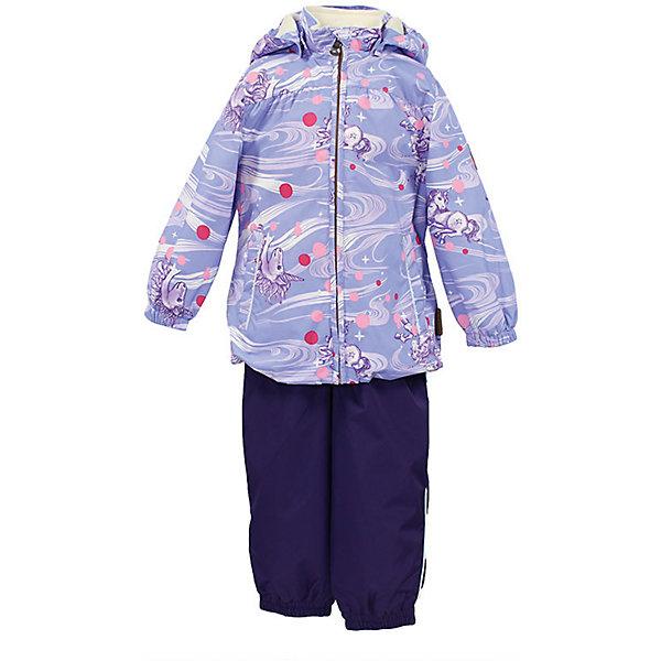 Комплект: куртка и полукомбинезон для девочки CLARA HuppaКомплекты<br>Характеристики товара:<br><br>• цвет: сиреневый принт/тёмно-фиолетовый<br>• комплектация: куртка и полукомбинезон <br>• ткань: 100% полиэстер<br>• подкладка: Coral-fleece смесь хлопка и полиэстера, в рукавах - тафта 100% полиэстер<br>• утеплитель: 100% полиэстер; куртка 100 г, полукомбинезон 40 г<br>• температурный режим: от -5°С до +10°С<br>• водонепроницаемость: верх - 5000 мм, низ - 10000 мм<br>• воздухопроницаемость: верх - 5000 мм, низ - 10000 мм<br>• светоотражающие детали<br>• шов сидения проклеен<br>• съёмный капюшон с резинкой<br>• эластичные манжеты на рукавах<br>• манжеты брюк с резинкой<br>• съёмные эластичные штрипки<br>• без внутренних швов<br>• резиновые подтяжки<br>• коллекция: весна-лето 2017<br>• страна бренда: Эстония<br><br>Такой модный демисезонный комплект  обеспечит детям тепло и комфорт. Он сделан из материала, отталкивающего воду, и дополнен подкладкой с утеплителем, поэтому изделие идеально подходит для межсезонья. Материал изделий - с мембранной технологией: защищая от влаги и ветра, он легко выводит лишнюю влагу наружу. Комплект очень симпатично смотрится. <br><br>Одежда и обувь от популярного эстонского бренда Huppa - отличный вариант одеть ребенка можно и комфортно. Вещи, выпускаемые компанией, качественные, продуманные и очень удобные. Для производства изделий используются только безопасные для детей материалы. Продукция от Huppa порадует и детей, и их родителей!<br><br>Комплект: куртка и полукомбинезон CLARA от бренда Huppa (Хуппа) можно купить в нашем интернет-магазине.<br>Ширина мм: 356; Глубина мм: 10; Высота мм: 245; Вес г: 519; Цвет: розовый; Возраст от месяцев: 12; Возраст до месяцев: 15; Пол: Женский; Возраст: Детский; Размер: 80,110,104,98,92,86; SKU: 5346573;