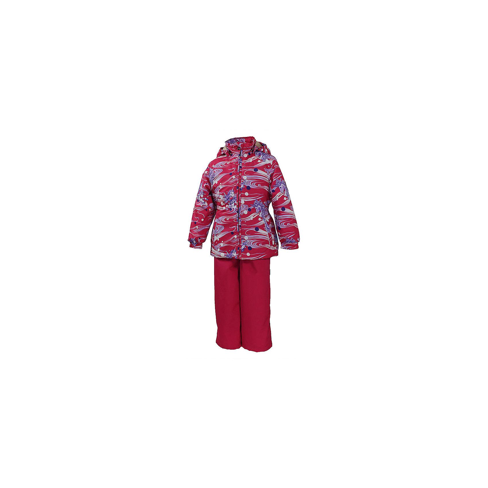 Комплект: куртка и полукомбинезон для девочки YONNE HuppaХарактеристики товара:<br><br>• цвет: фуксия принт/фуксия<br>• комплектация: куртка и полукомбинезон <br>• ткань: 100% полиэстер<br>• подкладка: тафта - 100% полиэстер<br>• утеплитель: куртка и полукомбинезон - 100% полиэстер 100 г.<br>• температурный режим: от -5°С до +10°С<br>• водонепроницаемость: верх - 5000 мм, низ - 10000 мм<br>• воздухопроницаемость: верх - 5000 мм, низ - 10000 мм<br>• светоотражающие детали<br>• шов сидения проклеен<br>• съёмный капюшон с резинкой<br>• защита подбородка от молнии<br>• эластичные манжеты на рукавах<br>• регулируемый низ брючин<br>• эластичный шнур с фиксатором внизу брючин<br>• без внутренних швов<br>• резиновые подтяжки<br>• коллекция: весна-лето 2017<br>• страна бренда: Эстония<br><br>Такой модный демисезонный комплект  обеспечит детям тепло и комфорт. Он сделан из материала, отталкивающего воду, и дополнен подкладкой с утеплителем, поэтому изделие идеально подходит для межсезонья. Материал изделий - с мембранной технологией: защищая от влаги и ветра, он легко выводит лишнюю влагу наружу. Комплект очень симпатично смотрится. <br><br>Одежда и обувь от популярного эстонского бренда Huppa - отличный вариант одеть ребенка можно и комфортно. Вещи, выпускаемые компанией, качественные, продуманные и очень удобные. Для производства изделий используются только безопасные для детей материалы. Продукция от Huppa порадует и детей, и их родителей!<br><br>Комплект: куртка и полукомбинезон YONNE от бренда Huppa (Хуппа) можно купить в нашем интернет-магазине.<br><br>Ширина мм: 356<br>Глубина мм: 10<br>Высота мм: 245<br>Вес г: 519<br>Цвет: фиолетовый<br>Возраст от месяцев: 72<br>Возраст до месяцев: 84<br>Пол: Женский<br>Возраст: Детский<br>Размер: 122,86,92,98,104,110,116<br>SKU: 5346617