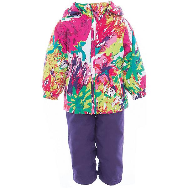 Комплект: куртка и полукомбинезон для девочки YONNE HuppaКомплекты<br>Характеристики товара:<br><br>• цвет: мультиколор/тёмно-фиолетовый<br>• комплектация: куртка и полукомбинезон <br>• ткань: 100% полиэстер<br>• подкладка: тафта - 100% полиэстер<br>• утеплитель: куртка и полукомбинезон - 100% полиэстер 100 г.<br>• температурный режим: от -5°С до +10°С<br>• водонепроницаемость: верх - 5000 мм, низ - 10000 мм<br>• воздухопроницаемость: верх - 5000 мм, низ - 10000 мм<br>• светоотражающие детали<br>• шов сидения проклеен<br>• съёмный капюшон с резинкой<br>• защита подбородка от молнии<br>• эластичные манжеты на рукавах<br>• регулируемый низ брючин<br>• эластичный шнур с фиксатором внизу брючин<br>• без внутренних швов<br>• резиновые подтяжки<br>• коллекция: весна-лето 2017<br>• страна бренда: Эстония<br><br>Такой модный демисезонный комплект  обеспечит детям тепло и комфорт. Он сделан из материала, отталкивающего воду, и дополнен подкладкой с утеплителем, поэтому изделие идеально подходит для межсезонья. Материал изделий - с мембранной технологией: защищая от влаги и ветра, он легко выводит лишнюю влагу наружу. Комплект очень симпатично смотрится. <br><br>Одежда и обувь от популярного эстонского бренда Huppa - отличный вариант одеть ребенка можно и комфортно. Вещи, выпускаемые компанией, качественные, продуманные и очень удобные. Для производства изделий используются только безопасные для детей материалы. Продукция от Huppa порадует и детей, и их родителей!<br><br>Комплект: куртка и полукомбинезон YONNE от бренда Huppa (Хуппа) можно купить в нашем интернет-магазине.<br>Ширина мм: 356; Глубина мм: 10; Высота мм: 245; Вес г: 519; Цвет: фиолетово-розовый; Возраст от месяцев: 12; Возраст до месяцев: 15; Пол: Женский; Возраст: Детский; Размер: 80,122,116,110,104,98,92,86; SKU: 5346645;
