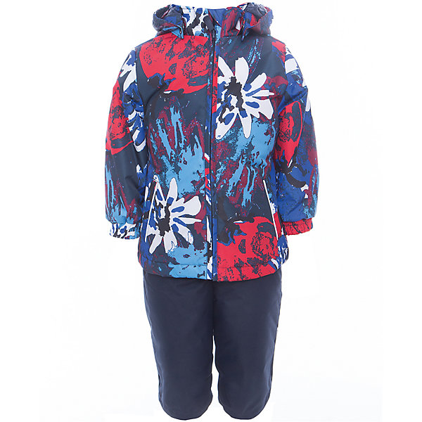 Комплект: куртка и полукомбинезон для девочки YONNE HuppaКомплекты<br>Характеристики товара:<br><br>• цвет: синий принт/тёмно-синий<br>• комплектация: куртка и полукомбинезон <br>• ткань: 100% полиэстер<br>• подкладка: тафта - 100% полиэстер<br>• утеплитель: куртка и полукомбинезон - 100% полиэстер 100 г.<br>• температурный режим: от -5°С до +10°С<br>• водонепроницаемость: верх - 5000 мм, низ - 10000 мм<br>• воздухопроницаемость: верх - 5000 мм, низ - 10000 мм<br>• светоотражающие детали<br>• шов сидения проклеен<br>• съёмный капюшон с резинкой<br>• защита подбородка от молнии<br>• эластичные манжеты на рукавах<br>• регулируемый низ брючин<br>• эластичный шнур с фиксатором внизу брючин<br>• без внутренних швов<br>• резиновые подтяжки<br>• коллекция: весна-лето 2017<br>• страна бренда: Эстония<br><br>Такой модный демисезонный комплект  обеспечит детям тепло и комфорт. Он сделан из материала, отталкивающего воду, и дополнен подкладкой с утеплителем, поэтому изделие идеально подходит для межсезонья. Материал изделий - с мембранной технологией: защищая от влаги и ветра, он легко выводит лишнюю влагу наружу. Комплект очень симпатично смотрится. <br><br>Одежда и обувь от популярного эстонского бренда Huppa - отличный вариант одеть ребенка можно и комфортно. Вещи, выпускаемые компанией, качественные, продуманные и очень удобные. Для производства изделий используются только безопасные для детей материалы. Продукция от Huppa порадует и детей, и их родителей!<br><br>Комплект: куртка и полукомбинезон YONNE от бренда Huppa (Хуппа) можно купить в нашем интернет-магазине.<br>Ширина мм: 356; Глубина мм: 10; Высота мм: 245; Вес г: 519; Цвет: синий; Возраст от месяцев: 24; Возраст до месяцев: 36; Пол: Женский; Возраст: Детский; Размер: 98,116,110,104,92,86,80,122; SKU: 5346672;