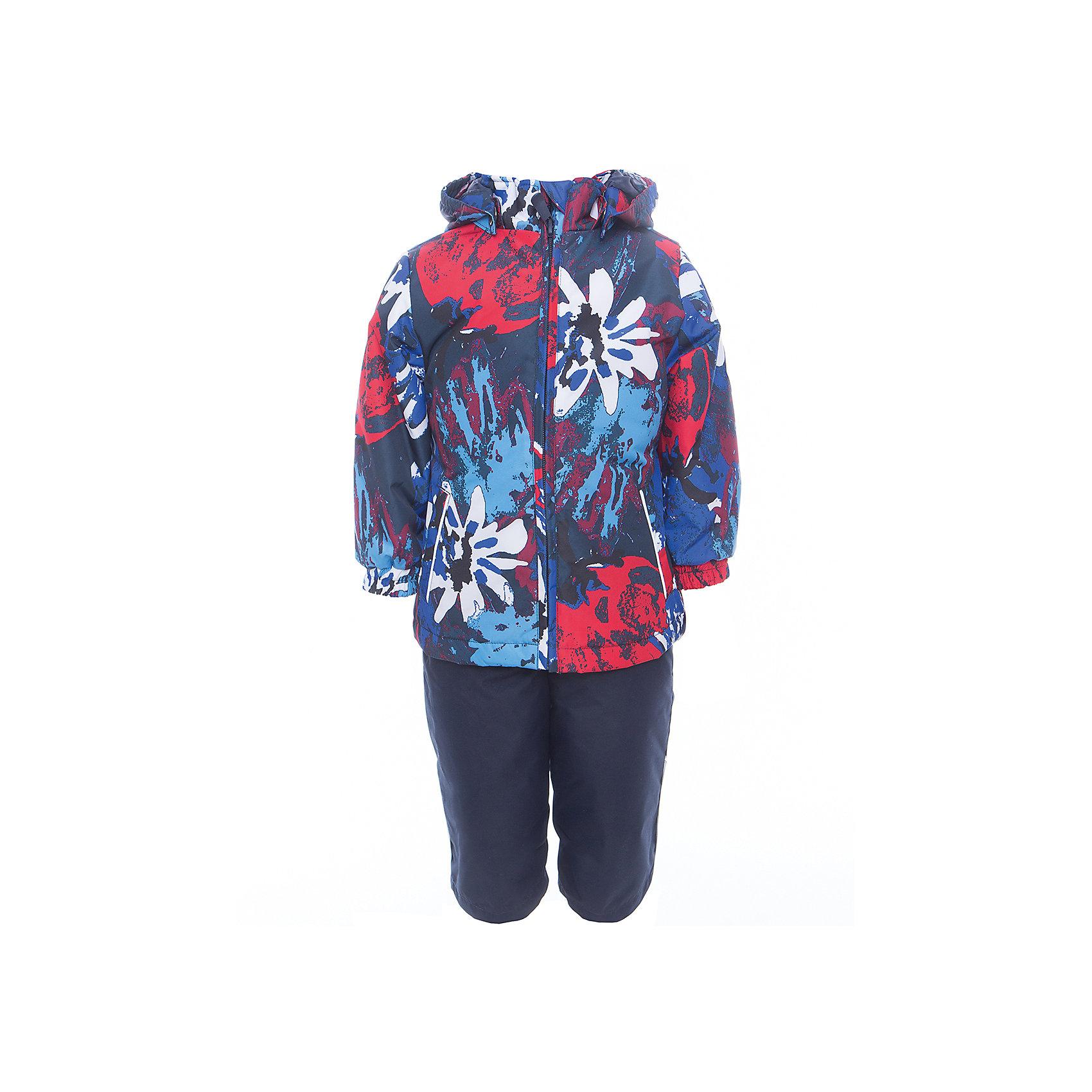 Комплект: куртка и полукомбинезон для девочки YONNE HuppaВерхняя одежда<br>Характеристики товара:<br><br>• цвет: синий принт/тёмно-синий<br>• комплектация: куртка и полукомбинезон <br>• ткань: 100% полиэстер<br>• подкладка: тафта - 100% полиэстер<br>• утеплитель: куртка и полукомбинезон - 100% полиэстер 100 г.<br>• температурный режим: от -5°С до +10°С<br>• водонепроницаемость: верх - 5000 мм, низ - 10000 мм<br>• воздухопроницаемость: верх - 5000 мм, низ - 10000 мм<br>• светоотражающие детали<br>• шов сидения проклеен<br>• съёмный капюшон с резинкой<br>• защита подбородка от молнии<br>• эластичные манжеты на рукавах<br>• регулируемый низ брючин<br>• эластичный шнур с фиксатором внизу брючин<br>• без внутренних швов<br>• резиновые подтяжки<br>• коллекция: весна-лето 2017<br>• страна бренда: Эстония<br><br>Такой модный демисезонный комплект  обеспечит детям тепло и комфорт. Он сделан из материала, отталкивающего воду, и дополнен подкладкой с утеплителем, поэтому изделие идеально подходит для межсезонья. Материал изделий - с мембранной технологией: защищая от влаги и ветра, он легко выводит лишнюю влагу наружу. Комплект очень симпатично смотрится. <br><br>Одежда и обувь от популярного эстонского бренда Huppa - отличный вариант одеть ребенка можно и комфортно. Вещи, выпускаемые компанией, качественные, продуманные и очень удобные. Для производства изделий используются только безопасные для детей материалы. Продукция от Huppa порадует и детей, и их родителей!<br><br>Комплект: куртка и полукомбинезон YONNE от бренда Huppa (Хуппа) можно купить в нашем интернет-магазине.<br><br>Ширина мм: 356<br>Глубина мм: 10<br>Высота мм: 245<br>Вес г: 519<br>Цвет: синий<br>Возраст от месяцев: 72<br>Возраст до месяцев: 84<br>Пол: Женский<br>Возраст: Детский<br>Размер: 122,80,86,92,98,104,110,116<br>SKU: 5346672