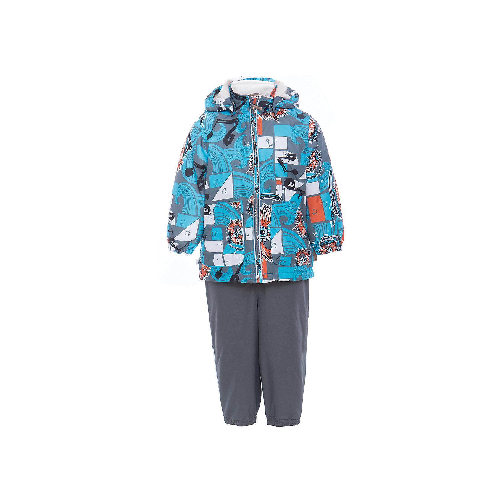 Комплект: куртка и полукомбинезон для мальчика CARLO HuppaВерхняя одежда<br>Характеристики товара:<br><br>• цвет: голубой принт/серый<br>• комплектация: куртка и полукомбинезон <br>• ткань: 100% полиэстер<br>• подкладка: тафта - 100% полиэстер<br>• утеплитель: 100% полиэстер; куртка 100 г, полукомбинезон 40 г<br>• температурный режим: от -5°С до +10°С<br>• водонепроницаемость: 10000 мм<br>• воздухопроницаемость: 10000 мм<br>• светоотражающие детали<br>• шов сидения проклеен<br>• съёмный капюшон с резинкой<br>• эластичные манжеты на рукавах<br>• манжеты брюк с резинкой<br>• съёмные эластичные штрипки<br>• без внутренних швов<br>• резиновые подтяжки<br>• коллекция: весна-лето 2017<br>• страна бренда: Эстония<br><br>Такой модный демисезонный комплект  обеспечит детям тепло и комфорт. Он сделан из материала, отталкивающего воду, и дополнен подкладкой с утеплителем, поэтому изделие идеально подходит для межсезонья. Материал изделий - с мембранной технологией: защищая от влаги и ветра, он легко выводит лишнюю влагу наружу. Комплект очень симпатично смотрится. <br><br>Одежда и обувь от популярного эстонского бренда Huppa - отличный вариант одеть ребенка можно и комфортно. Вещи, выпускаемые компанией, качественные, продуманные и очень удобные. Для производства изделий используются только безопасные для детей материалы. Продукция от Huppa порадует и детей, и их родителей!<br><br>Комплект: куртка и полукомбинезон для мальчика CARLO от бренда Huppa (Хуппа) можно купить в нашем интернет-магазине.<br><br>Ширина мм: 356<br>Глубина мм: 10<br>Высота мм: 245<br>Вес г: 519<br>Цвет: голубой<br>Возраст от месяцев: 12<br>Возраст до месяцев: 15<br>Пол: Мужской<br>Возраст: Детский<br>Размер: 80,110,104,98,92,86<br>SKU: 5346711