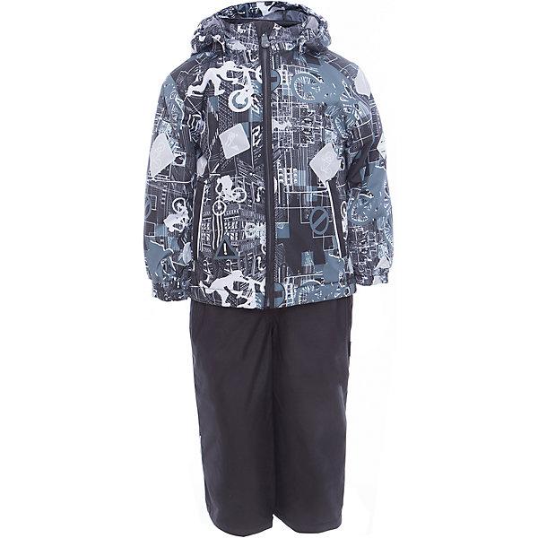 Купить со скидкой Комплект: куртка и полукомбинезон YOKO для мальчика Huppa