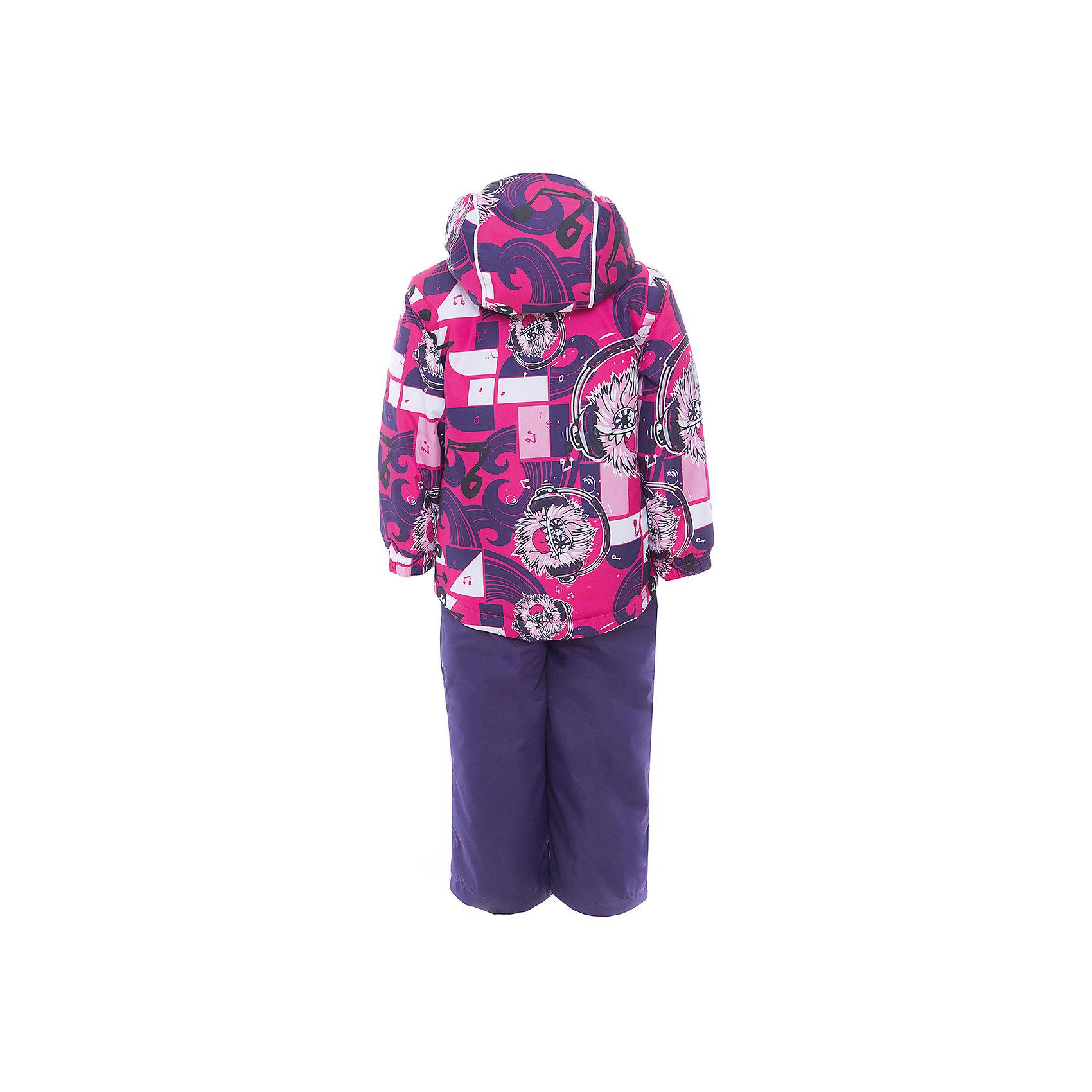 Комплект: куртка и полукомбинезон YOKO для девочки Huppa от myToys