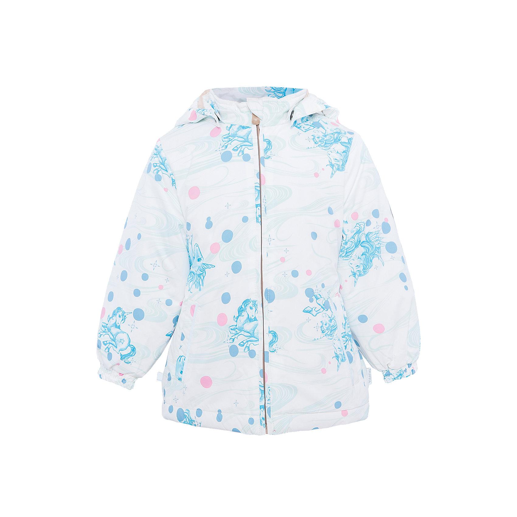 Куртка для девочки JOLY HuppaДемисезонные куртки<br>Характеристики товара:<br><br>• цвет: белый принт<br>• ткань: 100% полиэстер<br>• подкладка: тафта - 100% полиэстер<br>• утеплитель: 100% полиэстер 100 г<br>• температурный режим: от -5°С до +10°С<br>• водонепроницаемость: 5000 мм<br>• воздухопроницаемость: 5000 мм<br>• светоотражающие детали<br>• эластичные манжеты<br>• молния<br>• съёмный капюшон с резинкой<br>• карманы<br>• комфортная посадка<br>• коллекция: весна-лето 2017<br>• страна бренда: Эстония<br><br>Такая легкая и стильная куртка обеспечит детям тепло и комфорт. Она сделана из материала, отталкивающего воду, и дополнено подкладкой с утеплителем, поэтому изделие идеально подходит для межсезонья. Материал изделия - с мембранной технологией: защищая от влаги и ветра, он легко выводит лишнюю влагу наружу. Для удобства сделан капюшон. Куртка очень симпатично смотрится, яркая расцветка и крой добавляют ему оригинальности. Модель была разработана специально для детей.<br><br>Одежда и обувь от популярного эстонского бренда Huppa - отличный вариант одеть ребенка можно и комфортно. Вещи, выпускаемые компанией, качественные, продуманные и очень удобные. Для производства изделий используются только безопасные для детей материалы. Продукция от Huppa порадует и детей, и их родителей!<br><br>Куртку для девочки JOLY от бренда Huppa (Хуппа) можно купить в нашем интернет-магазине.<br><br>Ширина мм: 356<br>Глубина мм: 10<br>Высота мм: 245<br>Вес г: 519<br>Цвет: белый<br>Возраст от месяцев: 96<br>Возраст до месяцев: 108<br>Пол: Женский<br>Возраст: Детский<br>Размер: 134,92,98,104,110,116,122,128<br>SKU: 5346802