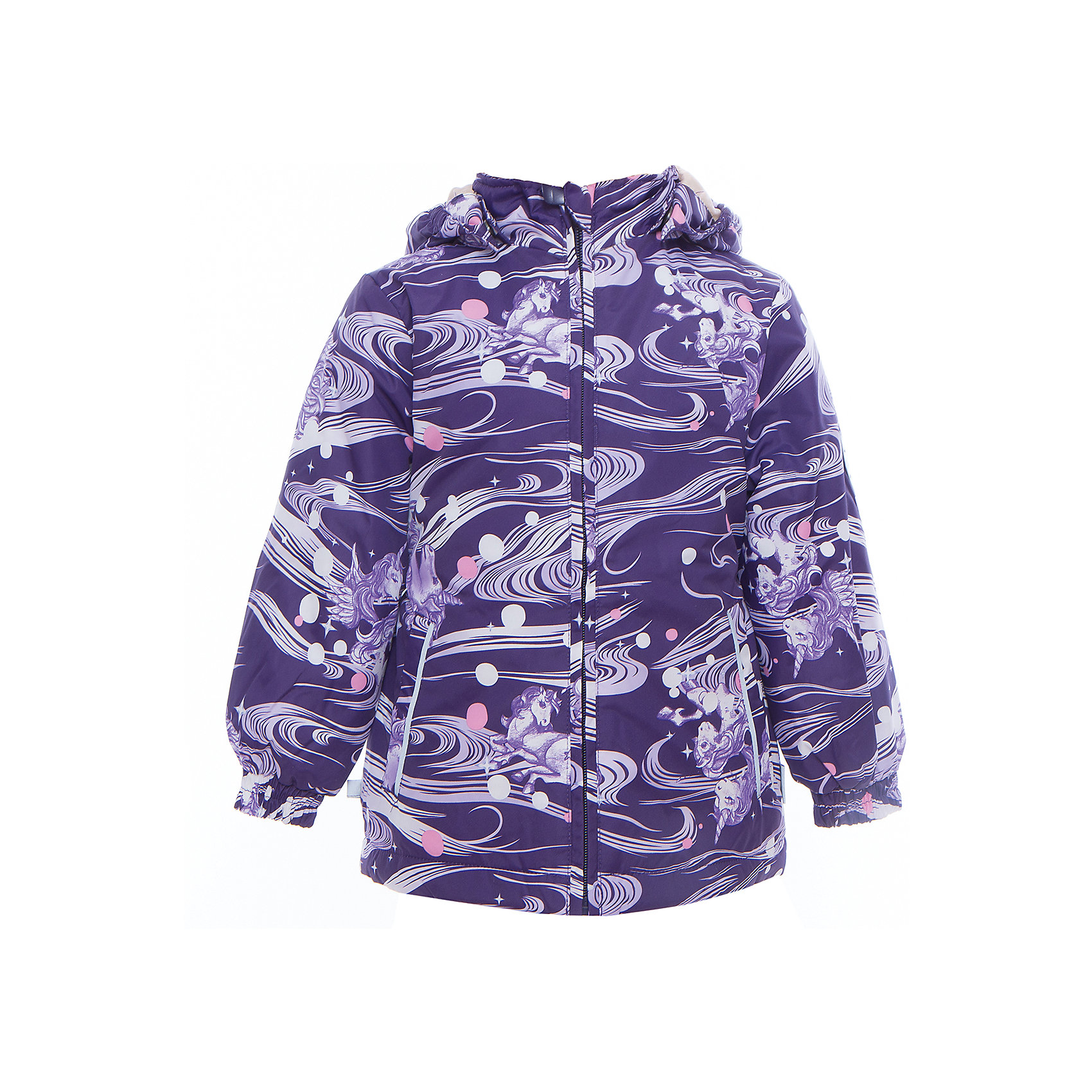 Куртка для девочки JOLY HuppaХарактеристики товара:<br><br>• цвет: тёмно-фиолетовый принт<br>• ткань: 100% полиэстер<br>• подкладка: тафта - 100% полиэстер<br>• утеплитель: 100% полиэстер 100 г<br>• температурный режим: от -5°С до +10°С<br>• водонепроницаемость: 5000 мм<br>• воздухопроницаемость: 5000 мм<br>• светоотражающие детали<br>• эластичные манжеты<br>• молния<br>• съёмный капюшон с резинкой<br>• карманы<br>• комфортная посадка<br>• коллекция: весна-лето 2017<br>• страна бренда: Эстония<br><br>Такая легкая и стильная куртка обеспечит детям тепло и комфорт. Она сделана из материала, отталкивающего воду, и дополнено подкладкой с утеплителем, поэтому изделие идеально подходит для межсезонья. Материал изделия - с мембранной технологией: защищая от влаги и ветра, он легко выводит лишнюю влагу наружу. Для удобства сделан капюшон. Куртка очень симпатично смотрится, яркая расцветка и крой добавляют ему оригинальности. Модель была разработана специально для детей.<br><br>Одежда и обувь от популярного эстонского бренда Huppa - отличный вариант одеть ребенка можно и комфортно. Вещи, выпускаемые компанией, качественные, продуманные и очень удобные. Для производства изделий используются только безопасные для детей материалы. Продукция от Huppa порадует и детей, и их родителей!<br><br>Куртку для девочки JOLY от бренда Huppa (Хуппа) можно купить в нашем интернет-магазине.<br><br>Ширина мм: 356<br>Глубина мм: 10<br>Высота мм: 245<br>Вес г: 519<br>Цвет: розовый<br>Возраст от месяцев: 48<br>Возраст до месяцев: 60<br>Пол: Женский<br>Возраст: Детский<br>Размер: 110,128,134,116,122,92,98,104<br>SKU: 5346829