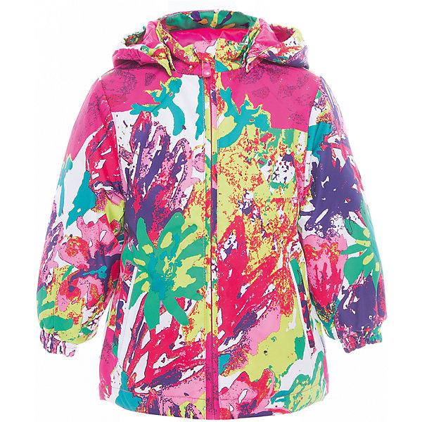 Куртка для девочки JOLY HuppaДемисезонные куртки<br>Характеристики товара:<br><br>• цвет: мультиколор<br>• ткань: 100% полиэстер<br>• подкладка: тафта - 100% полиэстер<br>• утеплитель: 100% полиэстер 100 г<br>• температурный режим: от -5°С до +10°С<br>• водонепроницаемость: 10000 мм<br>• воздухопроницаемость: 10000 мм<br>• светоотражающие детали<br>• эластичные манжеты<br>• молния<br>• съёмный капюшон с резинкой<br>• карманы<br>• комфортная посадка<br>• коллекция: весна-лето 2017<br>• страна бренда: Эстония<br><br>Такая легкая и стильная куртка обеспечит детям тепло и комфорт. Она сделана из материала, отталкивающего воду, и дополнено подкладкой с утеплителем, поэтому изделие идеально подходит для межсезонья. Материал изделия - с мембранной технологией: защищая от влаги и ветра, он легко выводит лишнюю влагу наружу. Для удобства сделан капюшон. Куртка очень симпатично смотрится, яркая расцветка и крой добавляют ему оригинальности. Модель была разработана специально для детей.<br><br>Одежда и обувь от популярного эстонского бренда Huppa - отличный вариант одеть ребенка можно и комфортно. Вещи, выпускаемые компанией, качественные, продуманные и очень удобные. Для производства изделий используются только безопасные для детей материалы. Продукция от Huppa порадует и детей, и их родителей!<br><br>Куртку для девочки JOLY от бренда Huppa (Хуппа) можно купить в нашем интернет-магазине.<br>Ширина мм: 356; Глубина мм: 10; Высота мм: 245; Вес г: 519; Цвет: розовый; Возраст от месяцев: 18; Возраст до месяцев: 24; Пол: Женский; Возраст: Детский; Размер: 104,98,92,134,128,122,116,110; SKU: 5346838;