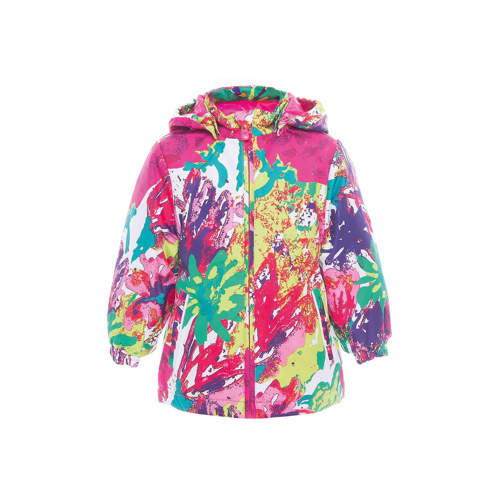 Куртка для девочки JOLY HuppaВерхняя одежда<br>Характеристики товара:<br><br>• цвет: мультиколор<br>• ткань: 100% полиэстер<br>• подкладка: тафта - 100% полиэстер<br>• утеплитель: 100% полиэстер 100 г<br>• температурный режим: от -5°С до +10°С<br>• водонепроницаемость: 10000 мм<br>• воздухопроницаемость: 10000 мм<br>• светоотражающие детали<br>• эластичные манжеты<br>• молния<br>• съёмный капюшон с резинкой<br>• карманы<br>• комфортная посадка<br>• коллекция: весна-лето 2017<br>• страна бренда: Эстония<br><br>Такая легкая и стильная куртка обеспечит детям тепло и комфорт. Она сделана из материала, отталкивающего воду, и дополнено подкладкой с утеплителем, поэтому изделие идеально подходит для межсезонья. Материал изделия - с мембранной технологией: защищая от влаги и ветра, он легко выводит лишнюю влагу наружу. Для удобства сделан капюшон. Куртка очень симпатично смотрится, яркая расцветка и крой добавляют ему оригинальности. Модель была разработана специально для детей.<br><br>Одежда и обувь от популярного эстонского бренда Huppa - отличный вариант одеть ребенка можно и комфортно. Вещи, выпускаемые компанией, качественные, продуманные и очень удобные. Для производства изделий используются только безопасные для детей материалы. Продукция от Huppa порадует и детей, и их родителей!<br><br>Куртку для девочки JOLY от бренда Huppa (Хуппа) можно купить в нашем интернет-магазине.<br><br>Ширина мм: 356<br>Глубина мм: 10<br>Высота мм: 245<br>Вес г: 519<br>Цвет: белый<br>Возраст от месяцев: 96<br>Возраст до месяцев: 108<br>Пол: Женский<br>Возраст: Детский<br>Размер: 134,104,110,116,122,128,92,98<br>SKU: 5346838