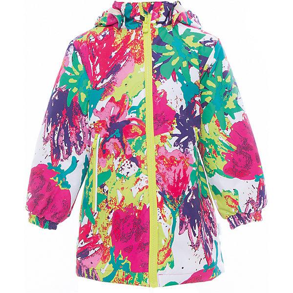 Куртка для девочки JUNE HuppaДемисезонные куртки<br>Характеристики товара:<br><br>• цвет: мультиколор<br>• ткань: 100% полиэстер<br>• подкладка: тафта - 100% полиэстер<br>• утеплитель: 100% полиэстер 100 г<br>• температурный режим: от -5°С до +10°С<br>• водонепроницаемость: 10000 мм<br>• воздухопроницаемость: 10000 мм<br>• светоотражающие детали<br>• эластичные манжеты<br>• молния с защитой для подбородка<br>• съёмный капюшон с резинкой<br>• карманы на полнии<br>• комфортная посадка<br>• коллекция: весна-лето 2017<br>• страна бренда: Эстония<br><br>Такая легкая и стильная куртка обеспечит детям тепло и комфорт. Она сделана из материала, отталкивающего воду, и дополнено подкладкой с утеплителем, поэтому изделие идеально подходит для межсезонья. Материал изделия - с мембранной технологией: защищая от влаги и ветра, он легко выводит лишнюю влагу наружу. Для удобства сделан капюшон. Куртка очень симпатично смотрится, яркая расцветка и крой добавляют ему оригинальности. Модель была разработана специально для детей.<br><br>Одежда и обувь от популярного эстонского бренда Huppa - отличный вариант одеть ребенка можно и комфортно. Вещи, выпускаемые компанией, качественные, продуманные и очень удобные. Для производства изделий используются только безопасные для детей материалы. Продукция от Huppa порадует и детей, и их родителей!<br><br>Куртку для девочки JUNE от бренда Huppa (Хуппа) можно купить в нашем интернет-магазине.<br><br>Ширина мм: 356<br>Глубина мм: 10<br>Высота мм: 245<br>Вес г: 519<br>Цвет: разноцветный<br>Возраст от месяцев: 96<br>Возраст до месяцев: 108<br>Пол: Женский<br>Возраст: Детский<br>Размер: 134,146,140,128,122,116,110,152<br>SKU: 5346847