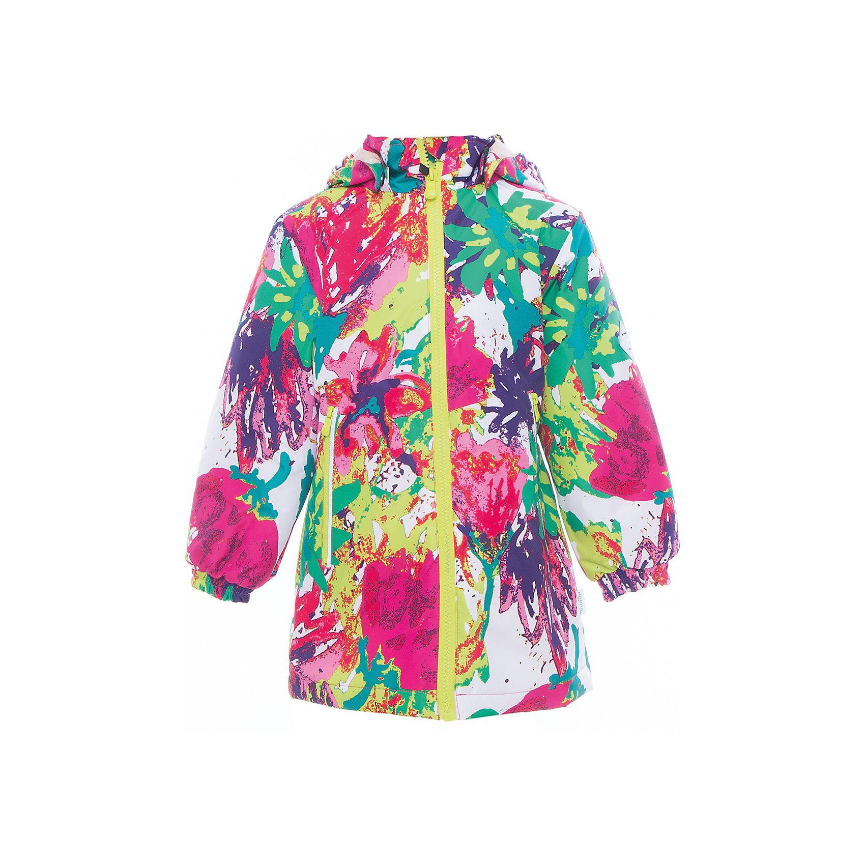 Куртка для девочки JUNE HuppaВерхняя одежда<br>Характеристики товара:<br><br>• цвет: мультиколор<br>• ткань: 100% полиэстер<br>• подкладка: тафта - 100% полиэстер<br>• утеплитель: 100% полиэстер 100 г<br>• температурный режим: от -5°С до +10°С<br>• водонепроницаемость: 10000 мм<br>• воздухопроницаемость: 10000 мм<br>• светоотражающие детали<br>• эластичные манжеты<br>• молния с защитой для подбородка<br>• съёмный капюшон с резинкой<br>• карманы на полнии<br>• комфортная посадка<br>• коллекция: весна-лето 2017<br>• страна бренда: Эстония<br><br>Такая легкая и стильная куртка обеспечит детям тепло и комфорт. Она сделана из материала, отталкивающего воду, и дополнено подкладкой с утеплителем, поэтому изделие идеально подходит для межсезонья. Материал изделия - с мембранной технологией: защищая от влаги и ветра, он легко выводит лишнюю влагу наружу. Для удобства сделан капюшон. Куртка очень симпатично смотрится, яркая расцветка и крой добавляют ему оригинальности. Модель была разработана специально для детей.<br><br>Одежда и обувь от популярного эстонского бренда Huppa - отличный вариант одеть ребенка можно и комфортно. Вещи, выпускаемые компанией, качественные, продуманные и очень удобные. Для производства изделий используются только безопасные для детей материалы. Продукция от Huppa порадует и детей, и их родителей!<br><br>Куртку для девочки JUNE от бренда Huppa (Хуппа) можно купить в нашем интернет-магазине.<br><br>Ширина мм: 356<br>Глубина мм: 10<br>Высота мм: 245<br>Вес г: 519<br>Цвет: белый<br>Возраст от месяцев: 132<br>Возраст до месяцев: 144<br>Пол: Женский<br>Возраст: Детский<br>Размер: 152,110,116,122,128,134,140,146<br>SKU: 5346847