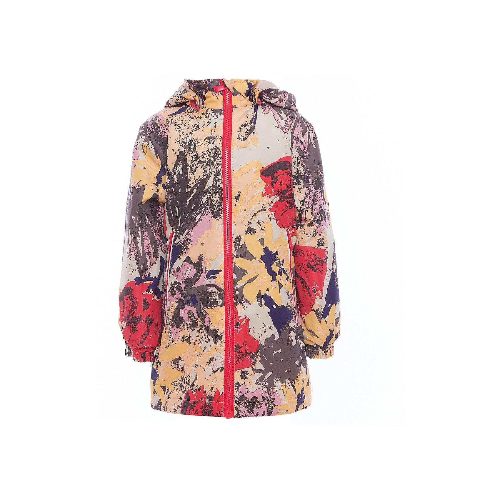 Куртка для девочки JUNE HuppaДемисезонные куртки<br>Характеристики товара:<br><br>• цвет: золотой принт<br>• ткань: 100% полиэстер<br>• подкладка: тафта - 100% полиэстер<br>• утеплитель: 100% полиэстер 100 г<br>• температурный режим: от -5°С до +10°С<br>• водонепроницаемость: 10000 мм<br>• воздухопроницаемость: 10000 мм<br>• светоотражающие детали<br>• эластичные манжеты<br>• молния с защитой для подбородка<br>• съёмный капюшон с резинкой<br>• карманы на полнии<br>• комфортная посадка<br>• коллекция: весна-лето 2017<br>• страна бренда: Эстония<br><br>Такая легкая и стильная куртка обеспечит детям тепло и комфорт. Она сделана из материала, отталкивающего воду, и дополнено подкладкой с утеплителем, поэтому изделие идеально подходит для межсезонья. Материал изделия - с мембранной технологией: защищая от влаги и ветра, он легко выводит лишнюю влагу наружу. Для удобства сделан капюшон. Куртка очень симпатично смотрится, яркая расцветка и крой добавляют ему оригинальности. Модель была разработана специально для детей.<br><br>Одежда и обувь от популярного эстонского бренда Huppa - отличный вариант одеть ребенка можно и комфортно. Вещи, выпускаемые компанией, качественные, продуманные и очень удобные. Для производства изделий используются только безопасные для детей материалы. Продукция от Huppa порадует и детей, и их родителей!<br><br>Куртку для девочки JUNE от бренда Huppa (Хуппа) можно купить в нашем интернет-магазине.<br><br>Ширина мм: 356<br>Глубина мм: 10<br>Высота мм: 245<br>Вес г: 519<br>Цвет: желтый<br>Возраст от месяцев: 132<br>Возраст до месяцев: 144<br>Пол: Женский<br>Возраст: Детский<br>Размер: 152,110,116,122,128,134,140,146<br>SKU: 5346856