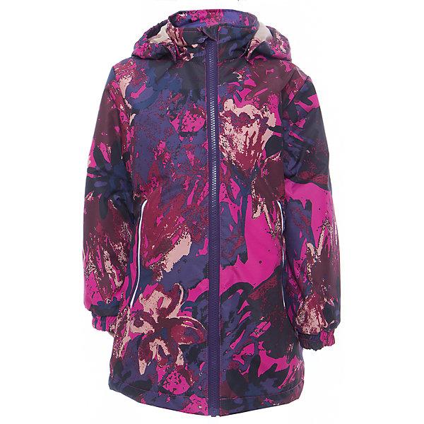 Куртка для девочки JUNE HuppaВерхняя одежда<br>Характеристики товара:<br><br>• цвет: фуксия принт<br>• ткань: 100% полиэстер<br>• подкладка: тафта - 100% полиэстер<br>• утеплитель: 100% полиэстер 100 г<br>• температурный режим: от -5°С до +10°С<br>• водонепроницаемость: 10000 мм<br>• воздухопроницаемость: 10000 мм<br>• светоотражающие детали<br>• эластичные манжеты<br>• молния с защитой для подбородка<br>• съёмный капюшон с резинкой<br>• карманы на полнии<br>• комфортная посадка<br>• коллекция: весна-лето 2017<br>• страна бренда: Эстония<br><br>Такая легкая и стильная куртка обеспечит детям тепло и комфорт. Она сделана из материала, отталкивающего воду, и дополнено подкладкой с утеплителем, поэтому изделие идеально подходит для межсезонья. Материал изделия - с мембранной технологией: защищая от влаги и ветра, он легко выводит лишнюю влагу наружу. Для удобства сделан капюшон. Куртка очень симпатично смотрится, яркая расцветка и крой добавляют ему оригинальности. Модель была разработана специально для детей.<br><br>Одежда и обувь от популярного эстонского бренда Huppa - отличный вариант одеть ребенка можно и комфортно. Вещи, выпускаемые компанией, качественные, продуманные и очень удобные. Для производства изделий используются только безопасные для детей материалы. Продукция от Huppa порадует и детей, и их родителей!<br><br>Куртку для девочки JUNE от бренда Huppa (Хуппа) можно купить в нашем интернет-магазине.<br><br>Ширина мм: 356<br>Глубина мм: 10<br>Высота мм: 245<br>Вес г: 519<br>Цвет: лиловый<br>Возраст от месяцев: 48<br>Возраст до месяцев: 60<br>Пол: Женский<br>Возраст: Детский<br>Размер: 110,152,146,140,134,128,122,116<br>SKU: 5346874