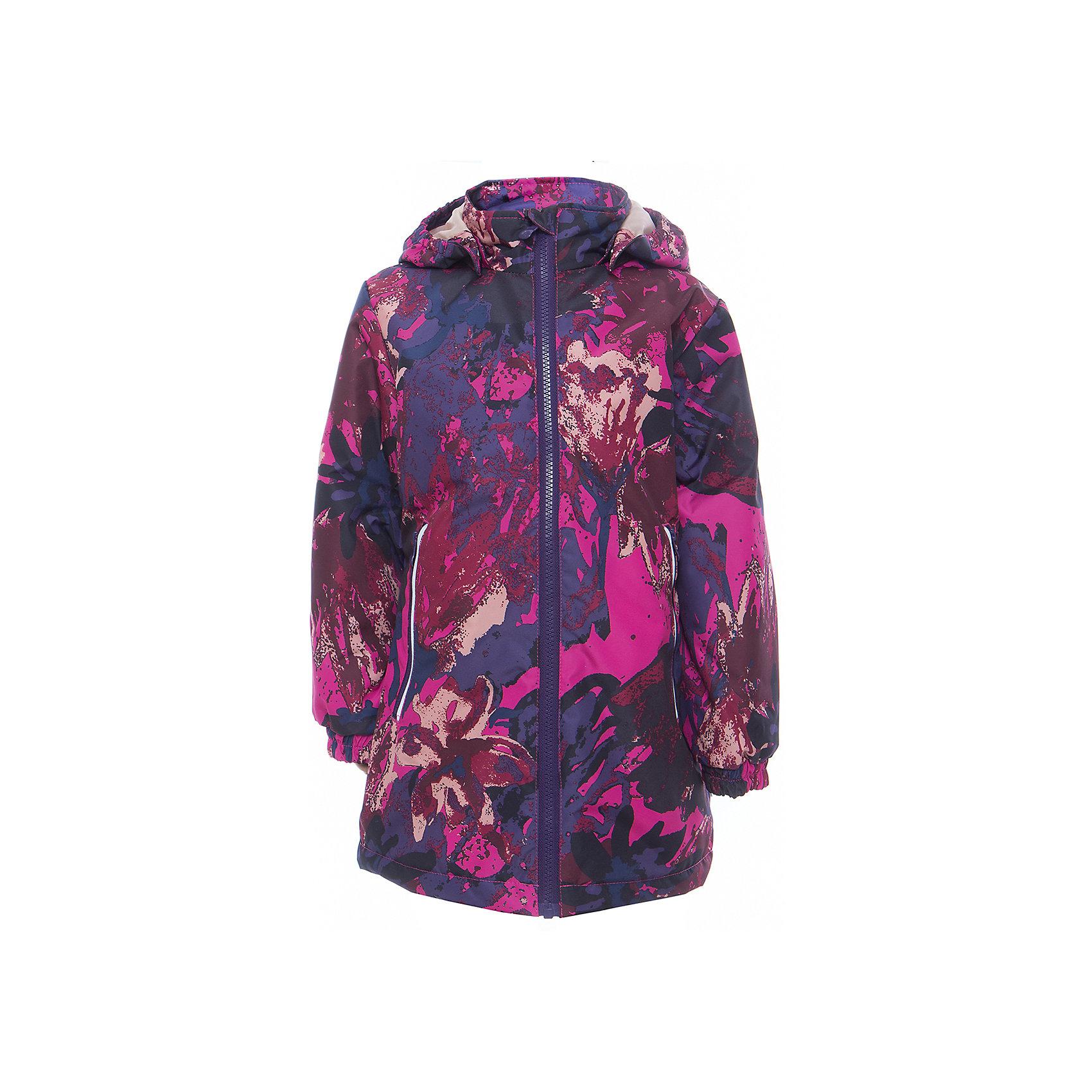 Куртка для девочки JUNE HuppaДемисезонные куртки<br>Характеристики товара:<br><br>• цвет: фуксия принт<br>• ткань: 100% полиэстер<br>• подкладка: тафта - 100% полиэстер<br>• утеплитель: 100% полиэстер 100 г<br>• температурный режим: от -5°С до +10°С<br>• водонепроницаемость: 10000 мм<br>• воздухопроницаемость: 10000 мм<br>• светоотражающие детали<br>• эластичные манжеты<br>• молния с защитой для подбородка<br>• съёмный капюшон с резинкой<br>• карманы на полнии<br>• комфортная посадка<br>• коллекция: весна-лето 2017<br>• страна бренда: Эстония<br><br>Такая легкая и стильная куртка обеспечит детям тепло и комфорт. Она сделана из материала, отталкивающего воду, и дополнено подкладкой с утеплителем, поэтому изделие идеально подходит для межсезонья. Материал изделия - с мембранной технологией: защищая от влаги и ветра, он легко выводит лишнюю влагу наружу. Для удобства сделан капюшон. Куртка очень симпатично смотрится, яркая расцветка и крой добавляют ему оригинальности. Модель была разработана специально для детей.<br><br>Одежда и обувь от популярного эстонского бренда Huppa - отличный вариант одеть ребенка можно и комфортно. Вещи, выпускаемые компанией, качественные, продуманные и очень удобные. Для производства изделий используются только безопасные для детей материалы. Продукция от Huppa порадует и детей, и их родителей!<br><br>Куртку для девочки JUNE от бренда Huppa (Хуппа) можно купить в нашем интернет-магазине.<br><br>Ширина мм: 356<br>Глубина мм: 10<br>Высота мм: 245<br>Вес г: 519<br>Цвет: фиолетовый<br>Возраст от месяцев: 132<br>Возраст до месяцев: 144<br>Пол: Женский<br>Возраст: Детский<br>Размер: 152,110,128,134,140,146,116,122<br>SKU: 5346874