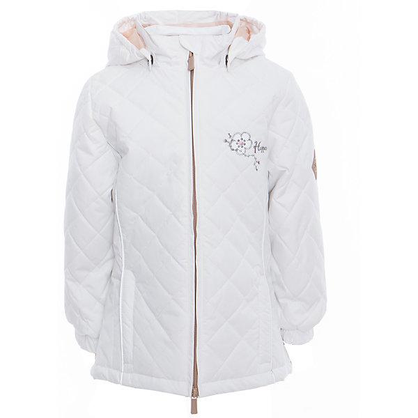 Куртка для девочки RIMMA HuppaВерхняя одежда<br>Характеристики товара:<br><br>• цвет: белый<br>• ткань: 100% полиэстер<br>• подкладка: тафта - 100% полиэстер<br>• утеплитель: 100% полиэстер 100 г<br>• температурный режим: от -5°С до +10°С<br>• водонепроницаемость: 5000 мм<br>• воздухопроницаемость: 5000 мм<br>• светоотражающие детали<br>• эластичные манжеты<br>• молния<br>• съёмный капюшон с резинкой<br>• декорирована вышивкой<br>• карманы на молнии<br>• комфортная посадка<br>• коллекция: весна-лето 2017<br>• страна бренда: Эстония<br><br>Эта стильная куртка обеспечит детям тепло и комфорт. Она сделана из материала, отталкивающего воду, и дополнено подкладкой с утеплителем, поэтому изделие идеально подходит для межсезонья. Материал изделия - с мембранной технологией: защищая от влаги и ветра, он легко выводит лишнюю влагу наружу. Для удобства сделан капюшон. Куртка очень симпатично смотрится, яркая расцветка и крой добавляют ему оригинальности. Модель была разработана специально для детей.<br><br>Одежда и обувь от популярного эстонского бренда Huppa - отличный вариант одеть ребенка можно и комфортно. Вещи, выпускаемые компанией, качественные, продуманные и очень удобные. Для производства изделий используются только безопасные для детей материалы. Продукция от Huppa порадует и детей, и их родителей!<br><br>Куртку для девочки RIMMA от бренда Huppa (Хуппа) можно купить в нашем интернет-магазине.<br><br>Ширина мм: 356<br>Глубина мм: 10<br>Высота мм: 245<br>Вес г: 519<br>Цвет: белый<br>Возраст от месяцев: 36<br>Возраст до месяцев: 48<br>Пол: Женский<br>Возраст: Детский<br>Размер: 104,158,152,146,140,134,128,122,116,110<br>SKU: 5346883