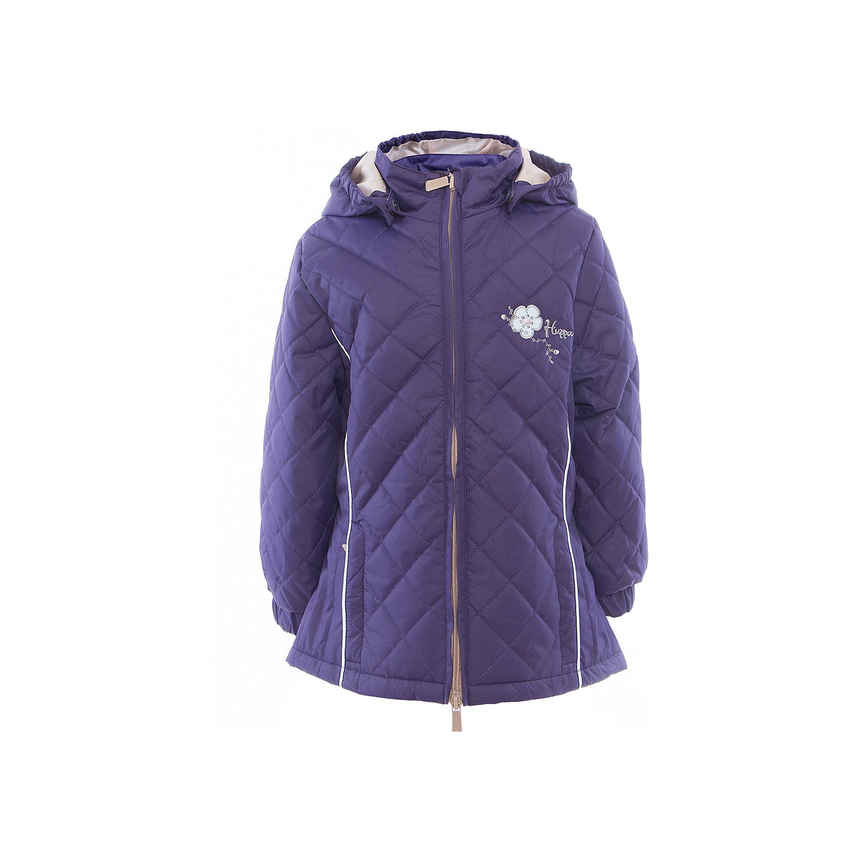 Куртка для девочки RIMMA HuppaХарактеристики товара:<br><br>• цвет: тёмно-фиолетовый<br>• ткань: 100% полиэстер<br>• подкладка: тафта - 100% полиэстер<br>• утеплитель: 100% полиэстер 100 г<br>• температурный режим: от -5°С до +10°С<br>• водонепроницаемость: 5000 мм<br>• воздухопроницаемость: 5000 мм<br>• светоотражающие детали<br>• эластичные манжеты<br>• молния<br>• съёмный капюшон с резинкой<br>• декорирована вышивкой<br>• карманы на молнии<br>• комфортная посадка<br>• коллекция: весна-лето 2017<br>• страна бренда: Эстония<br><br>Эта стильная куртка обеспечит детям тепло и комфорт. Она сделана из материала, отталкивающего воду, и дополнено подкладкой с утеплителем, поэтому изделие идеально подходит для межсезонья. Материал изделия - с мембранной технологией: защищая от влаги и ветра, он легко выводит лишнюю влагу наружу. Для удобства сделан капюшон. Куртка очень симпатично смотрится, яркая расцветка и крой добавляют ему оригинальности. Модель была разработана специально для детей.<br><br>Одежда и обувь от популярного эстонского бренда Huppa - отличный вариант одеть ребенка можно и комфортно. Вещи, выпускаемые компанией, качественные, продуманные и очень удобные. Для производства изделий используются только безопасные для детей материалы. Продукция от Huppa порадует и детей, и их родителей!<br><br>Куртку для девочки RIMMA от бренда Huppa (Хуппа) можно купить в нашем интернет-магазине.<br><br>Ширина мм: 356<br>Глубина мм: 10<br>Высота мм: 245<br>Вес г: 519<br>Цвет: розовый<br>Возраст от месяцев: 144<br>Возраст до месяцев: 156<br>Пол: Женский<br>Возраст: Детский<br>Размер: 158,104,110,116,122,128,134,140,146,152<br>SKU: 5346894